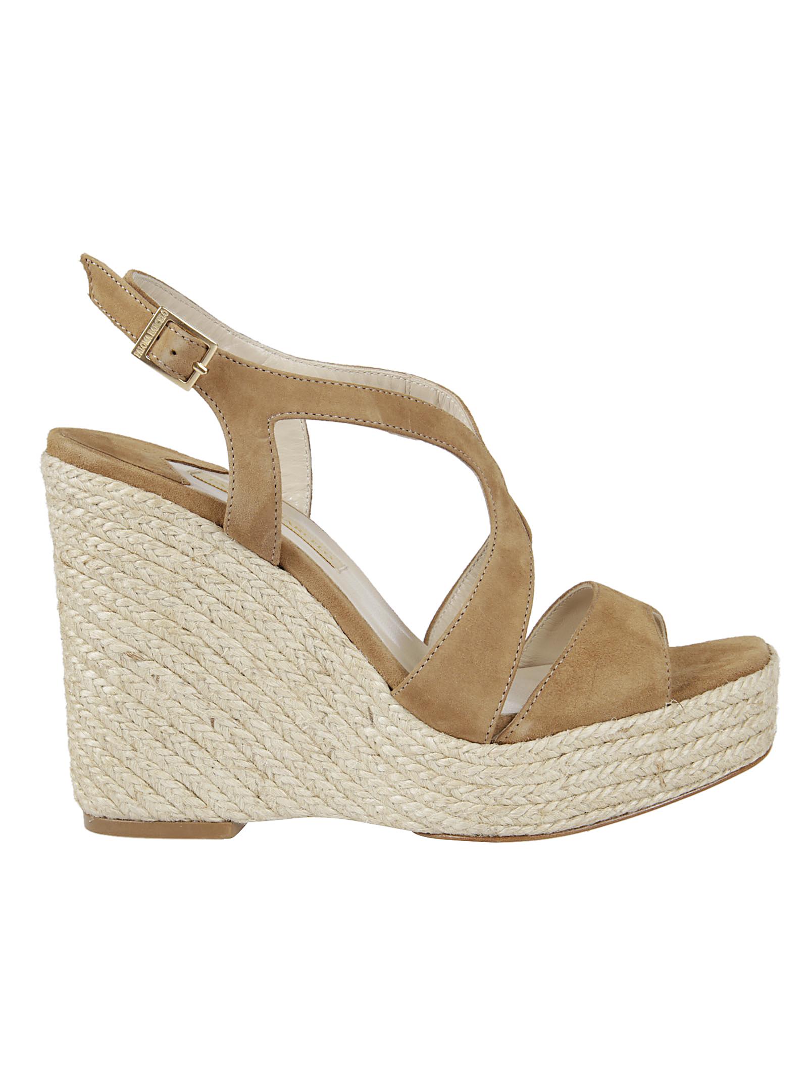 Paloma Barcelò Paloma Barceló Ankle Strap Wedge Sandals