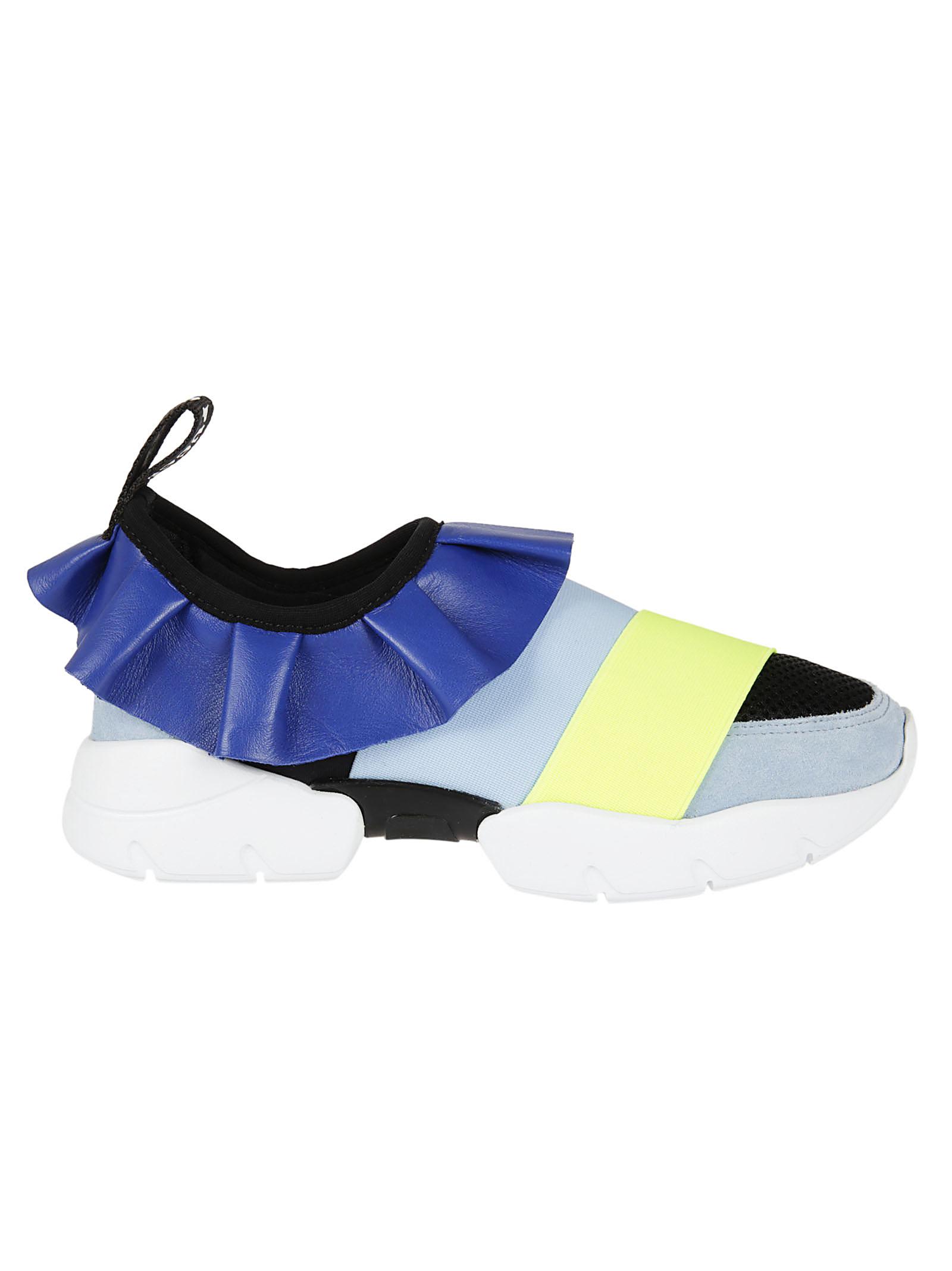 Emilio Pucci Emilio Pucci Frill Sneakers
