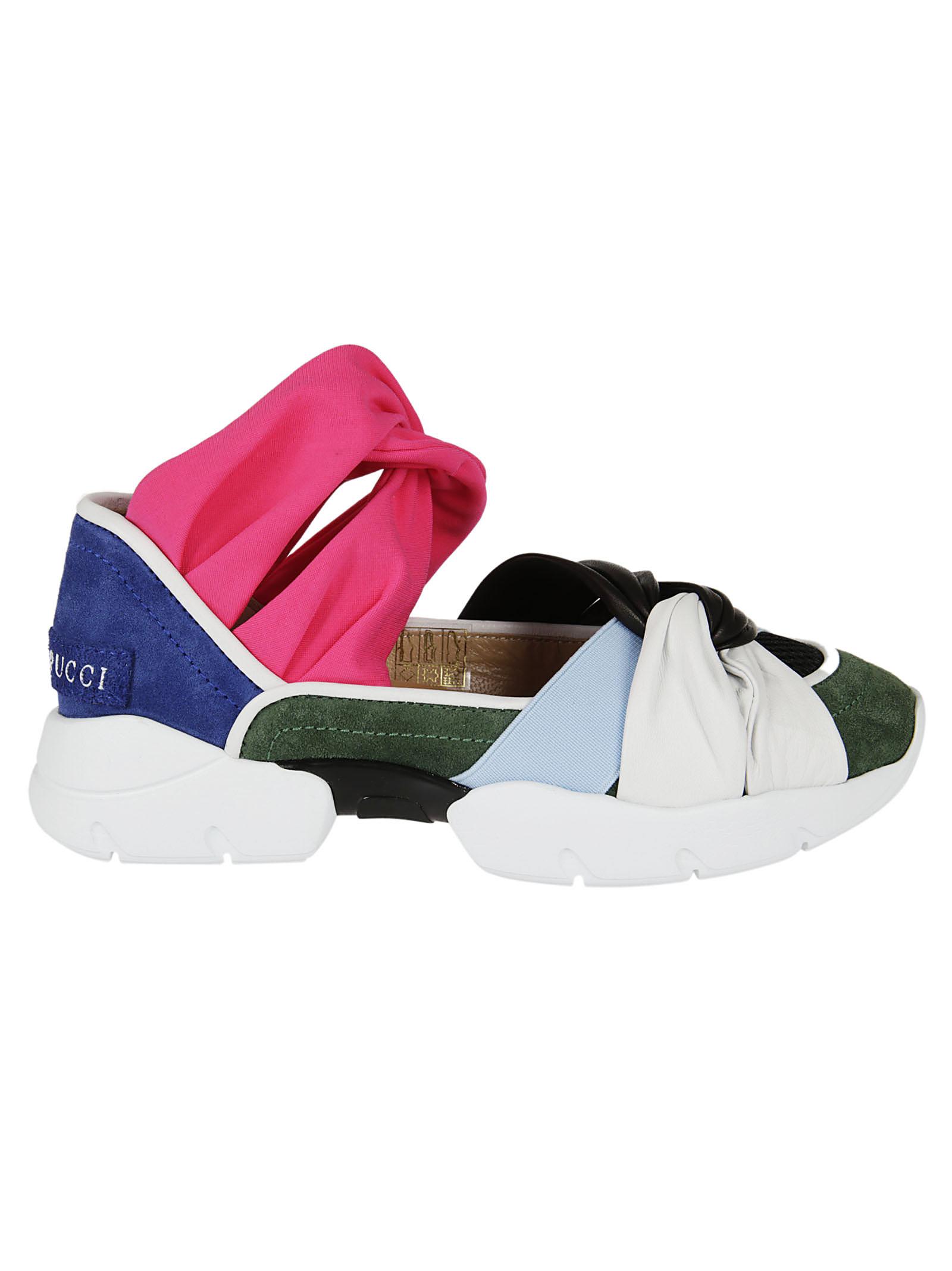 Emilio Pucci Emilio Pucci Suede Sneakers