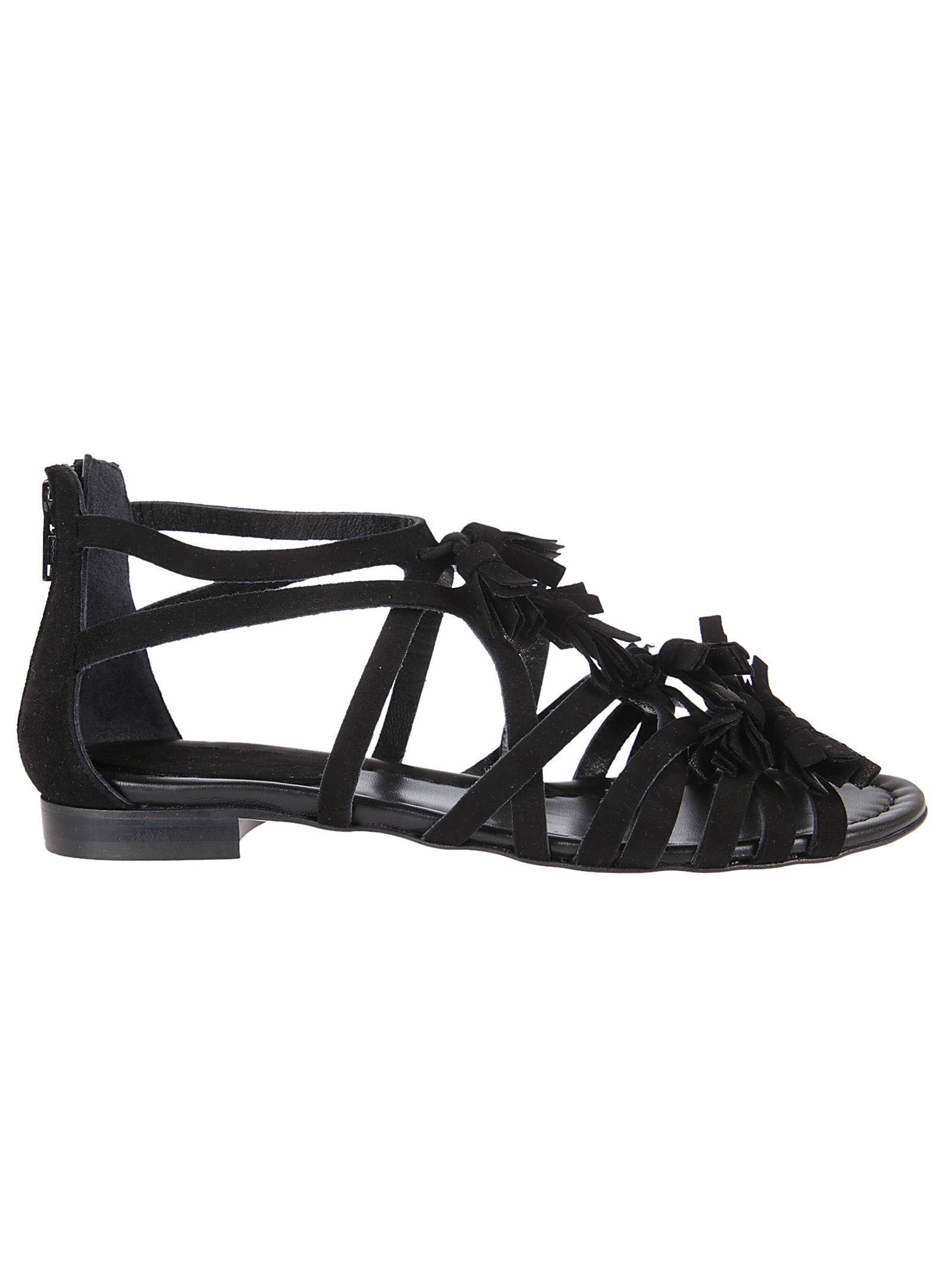 Anna F. Anna F Tassel Details Flat Sandals