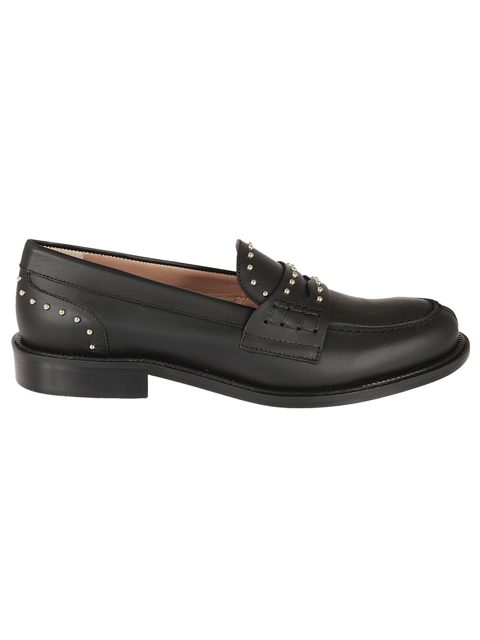 Valentino RED Red Valentino Studded Loafers