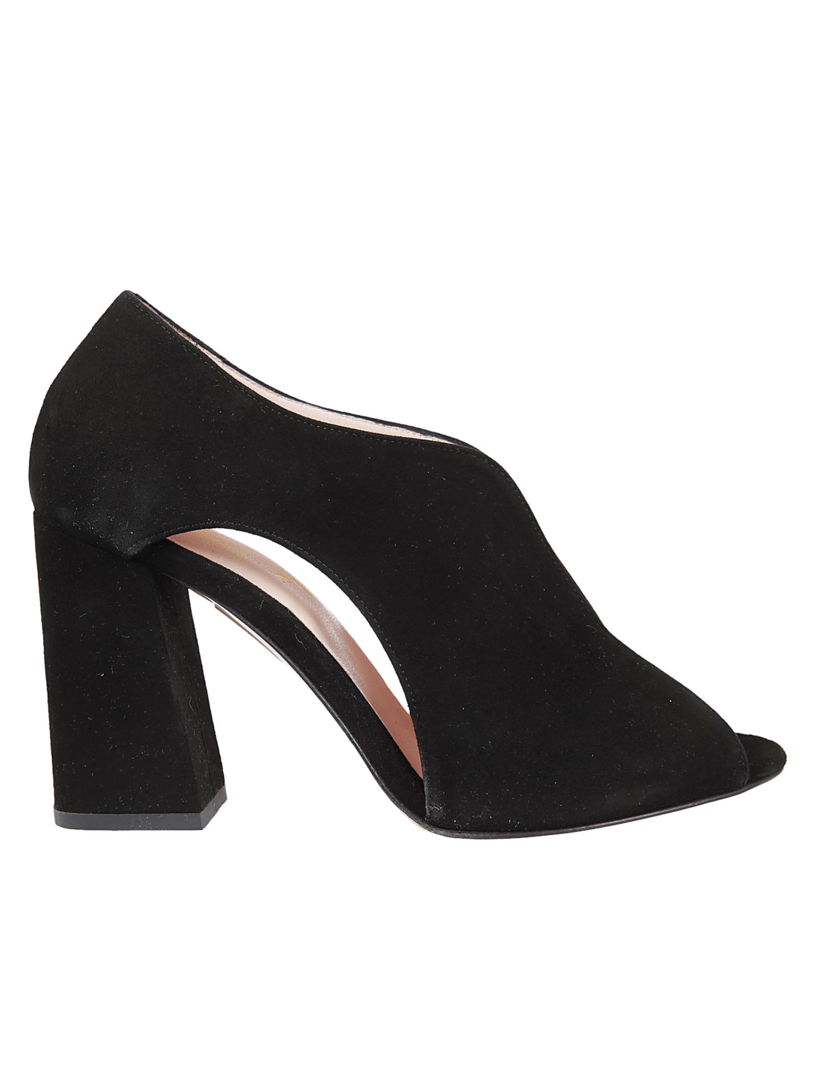 Anna F. Anna F Peep Toe Sandals