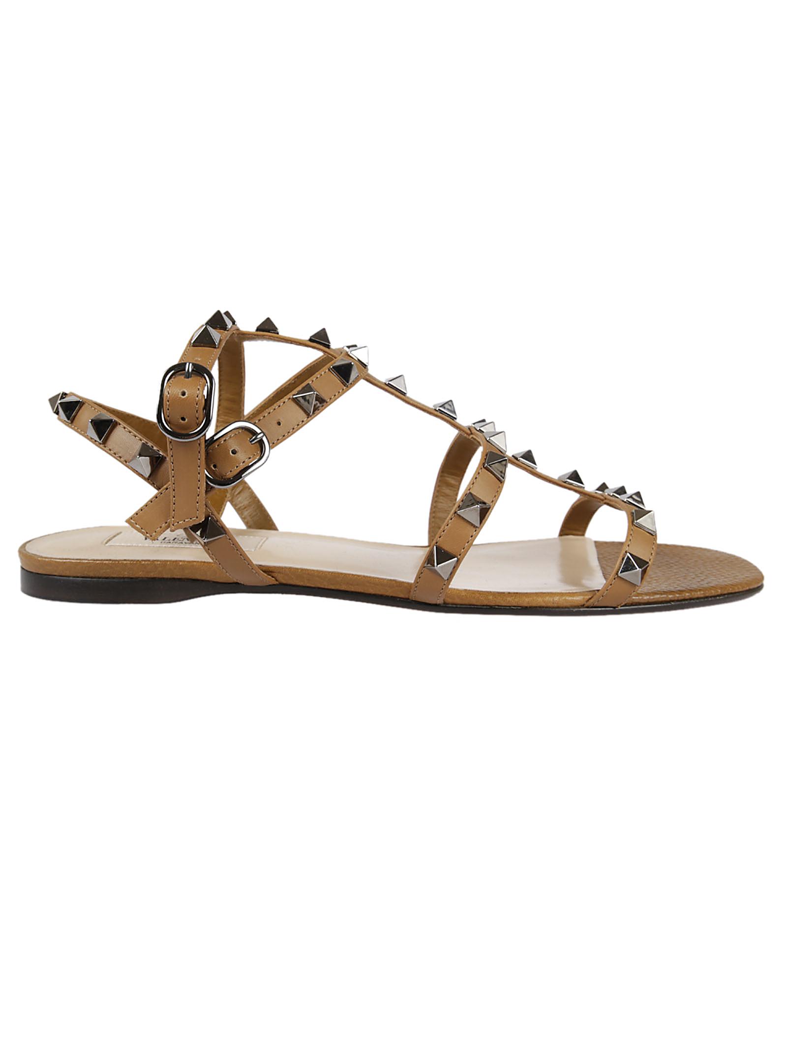Valentino Garavani Valentino Garavani Rockstud Flat Sandals
