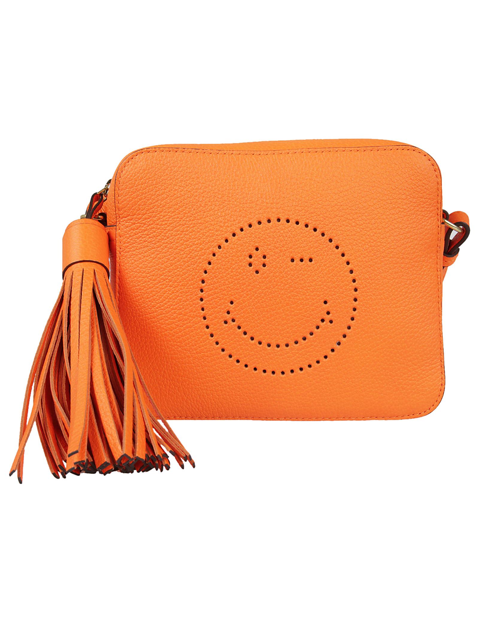 Anya Hindmach Anya Hindmarch Smiley Shoulder Bag
