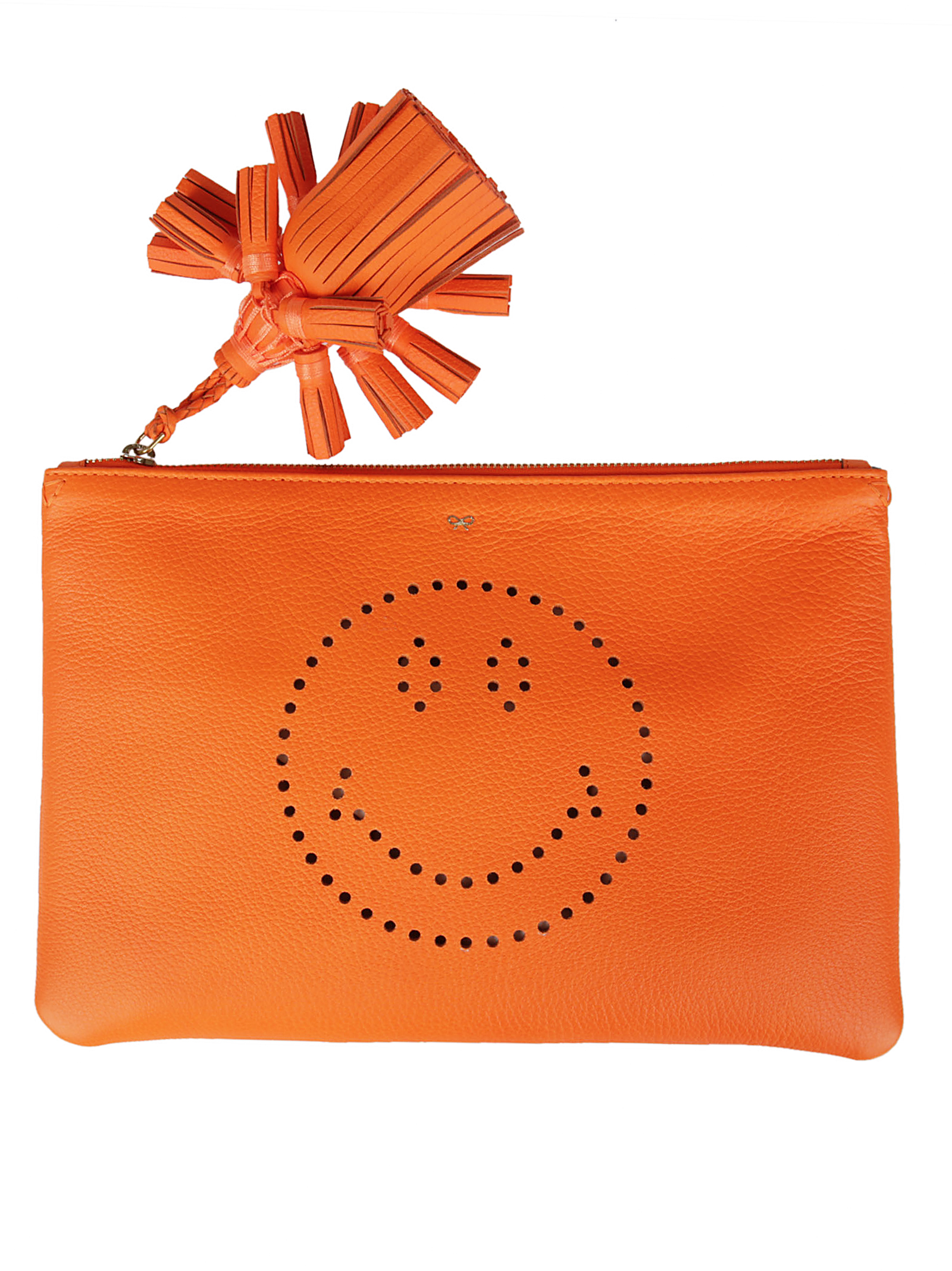 Anya Hindmach Anya Hindmarch Smiley Clutch