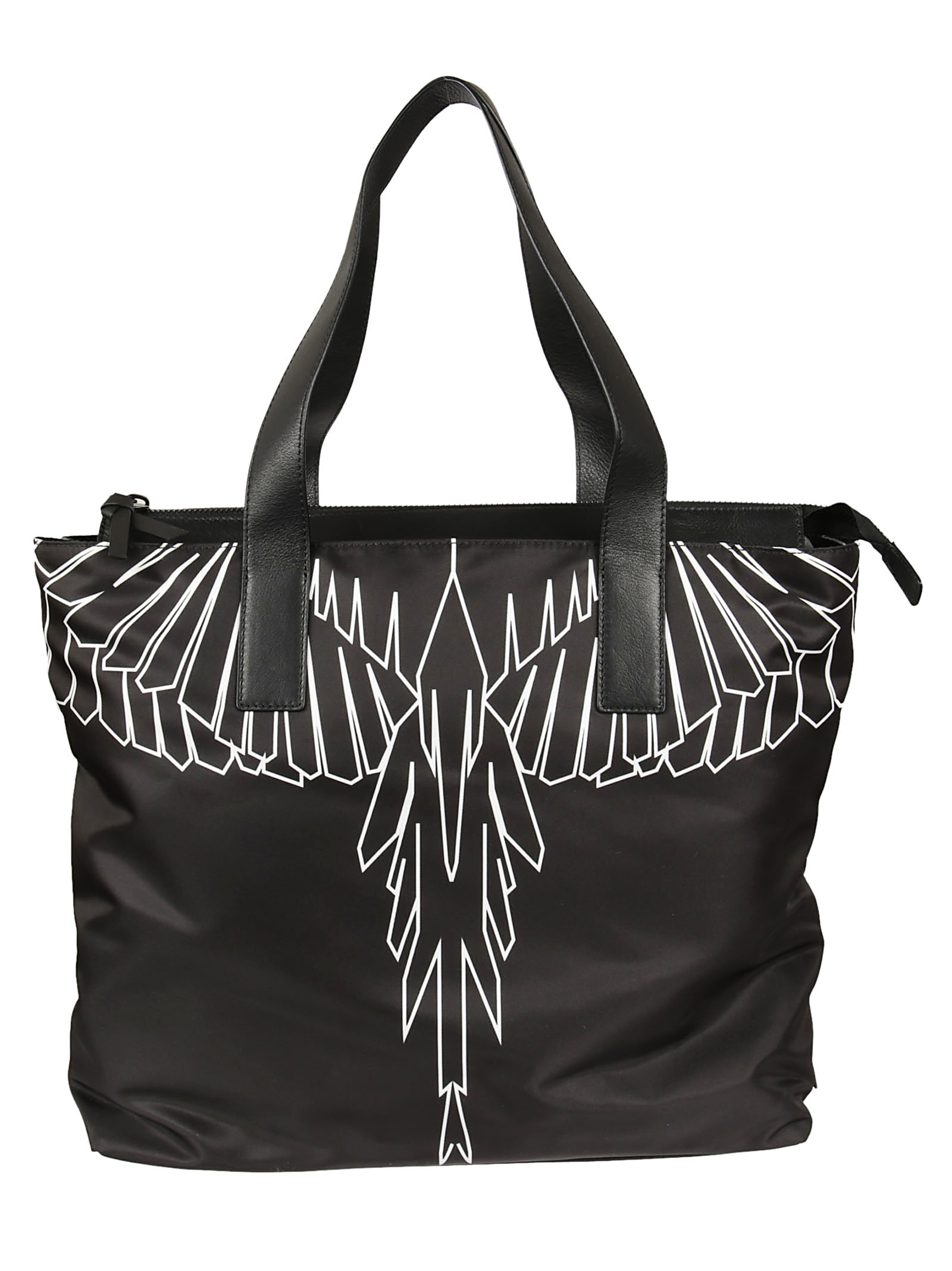 Marcelo Burlon Man Marcelo Burlon Printed Shopper Bag
