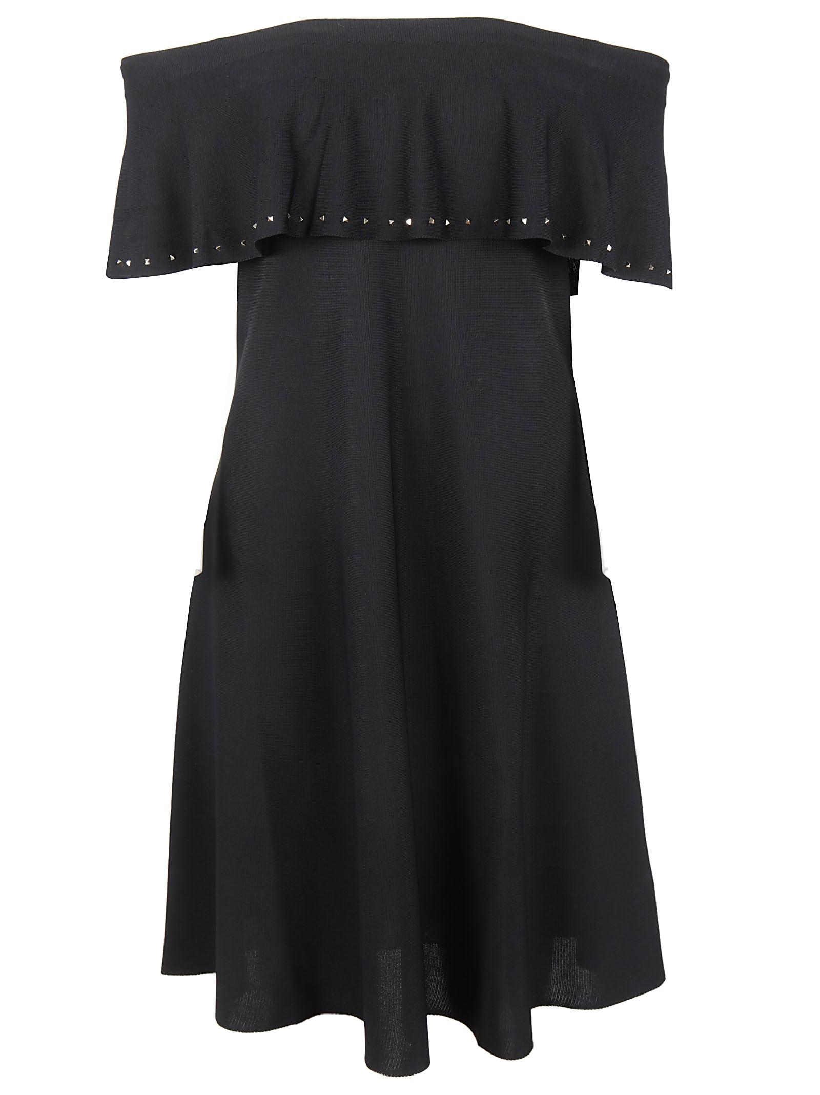 Valentino Valentino Off-shoulder Dress