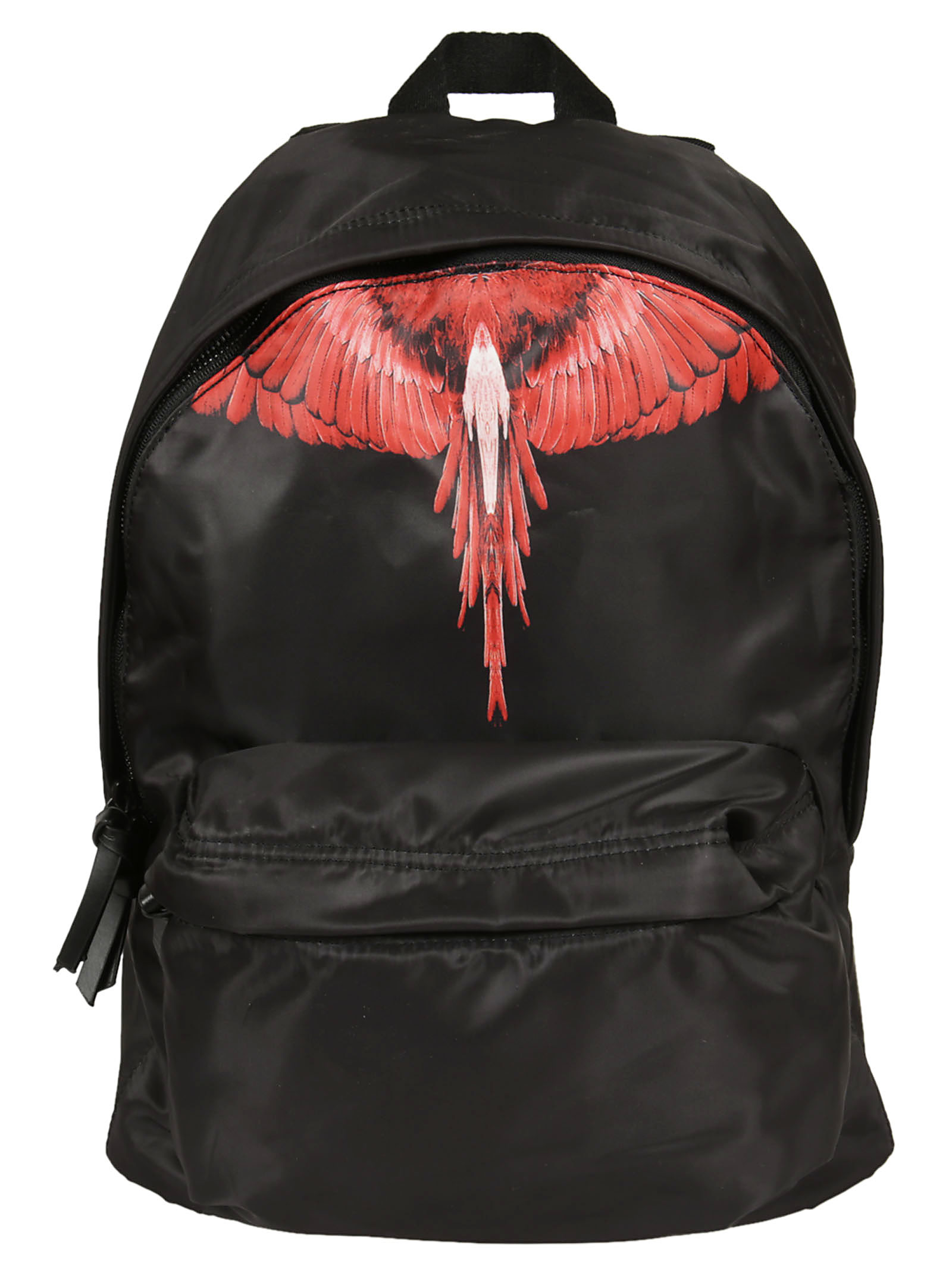 Marcelo Burlon Man CHOYM BACKPACK BLACK RED