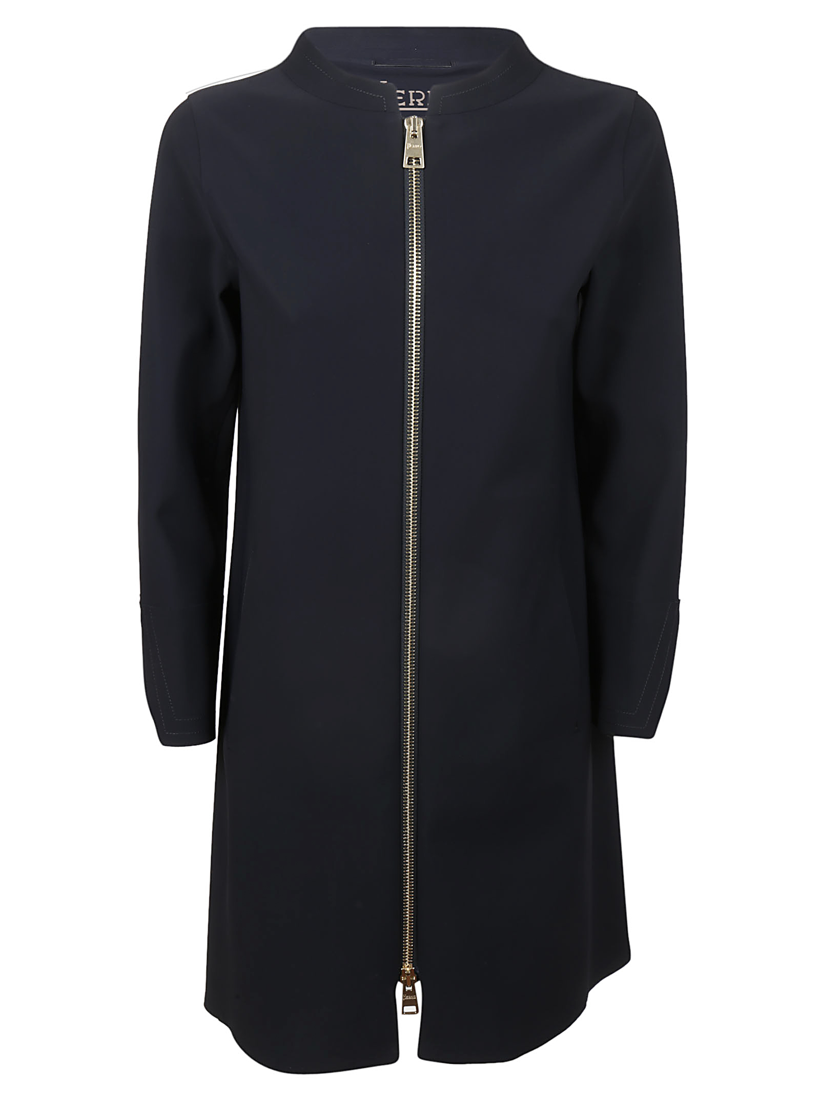 Herno Straight-fit zip up coat