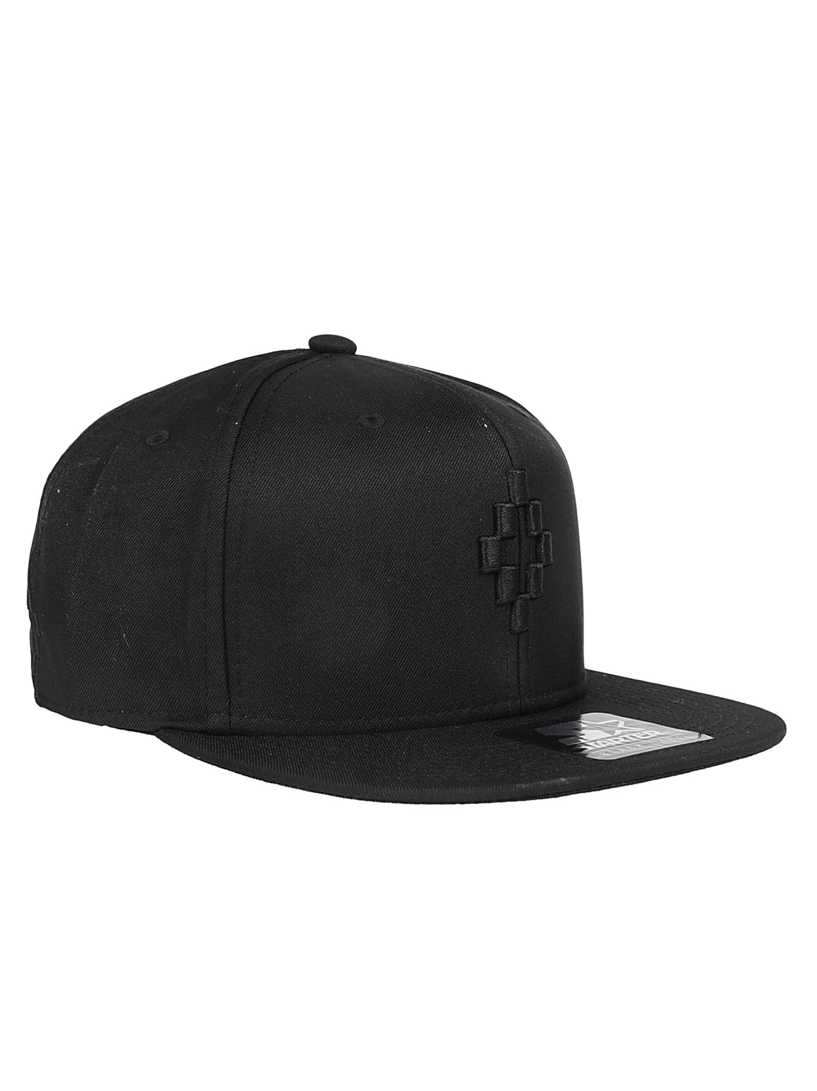 Marcelo Burlon Man STARTER CRUZ CAP BLACK WHITE
