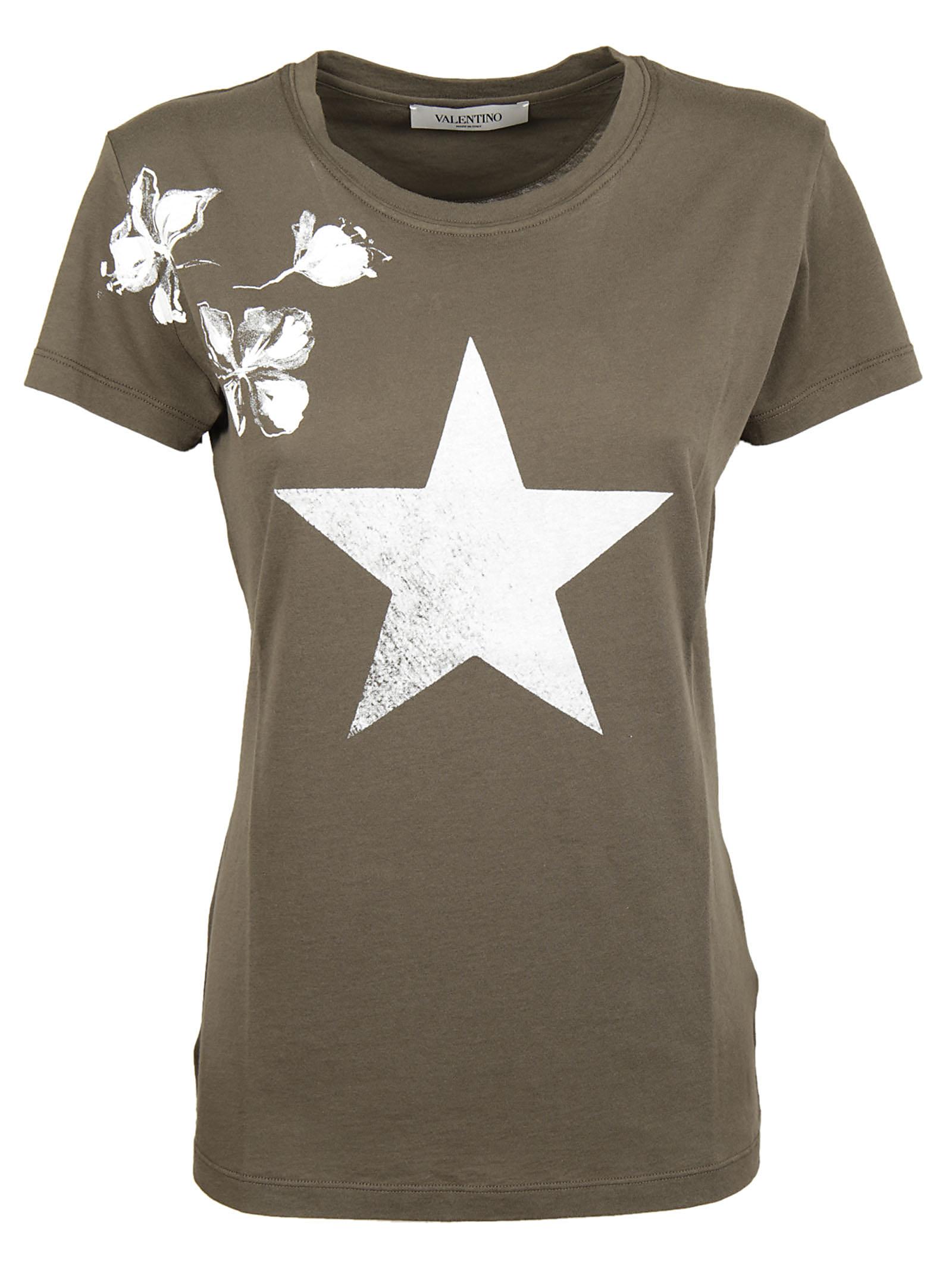 Valentino Valentino Printed T-Shirt