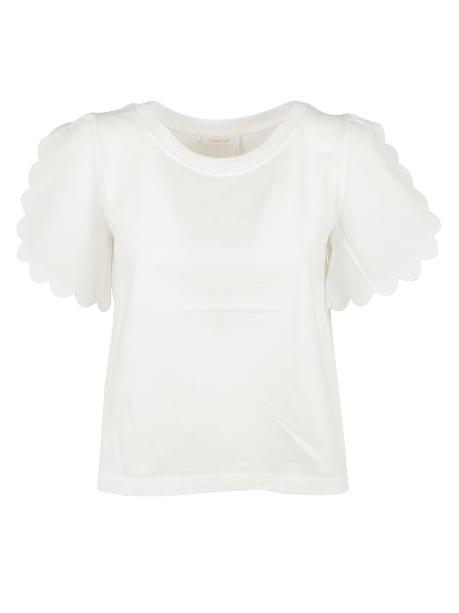 See By Chloé See by Chloé Scalloped T-shirt