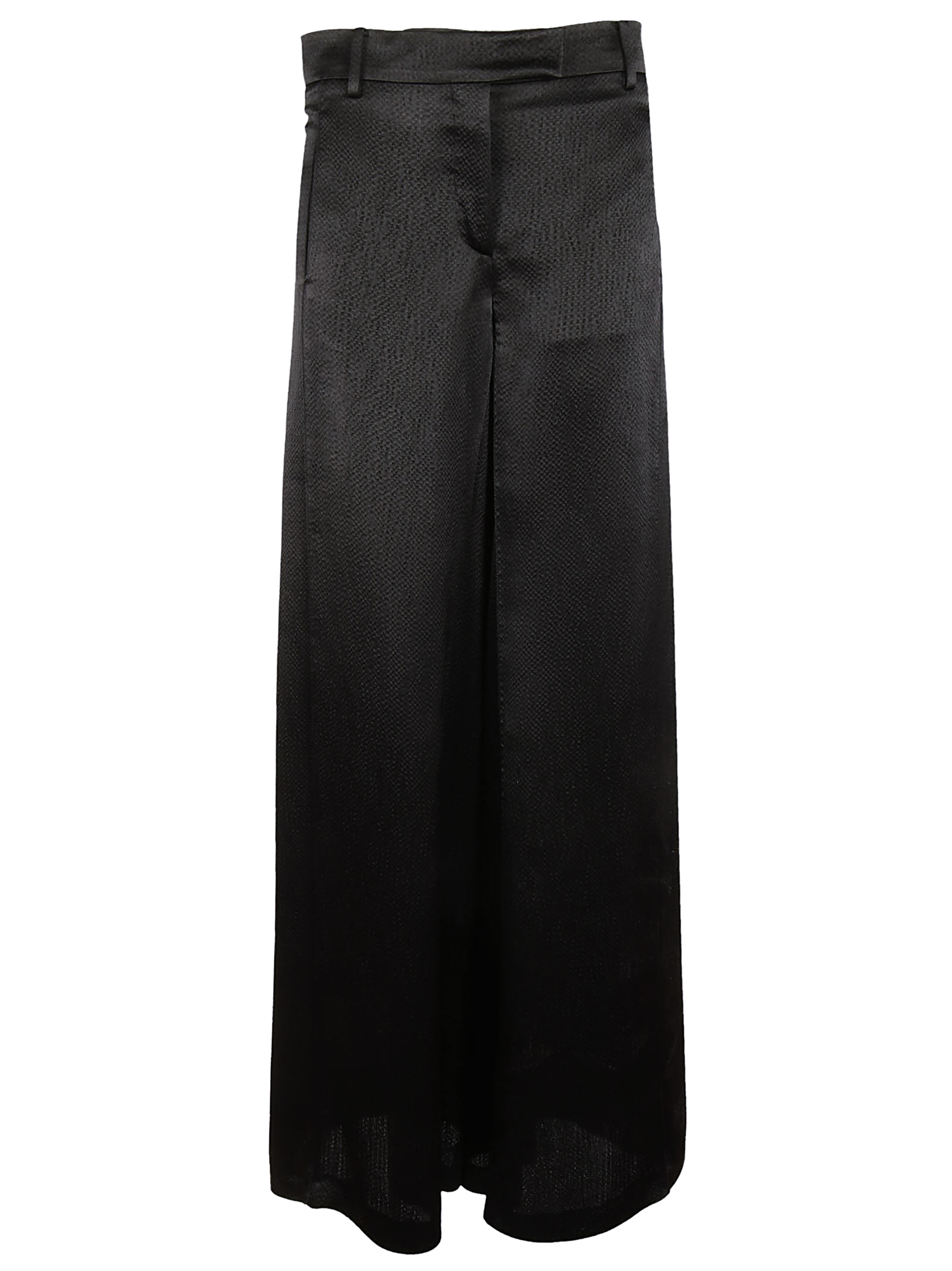 Valentino Valentino Textured Wide Leg Trousers