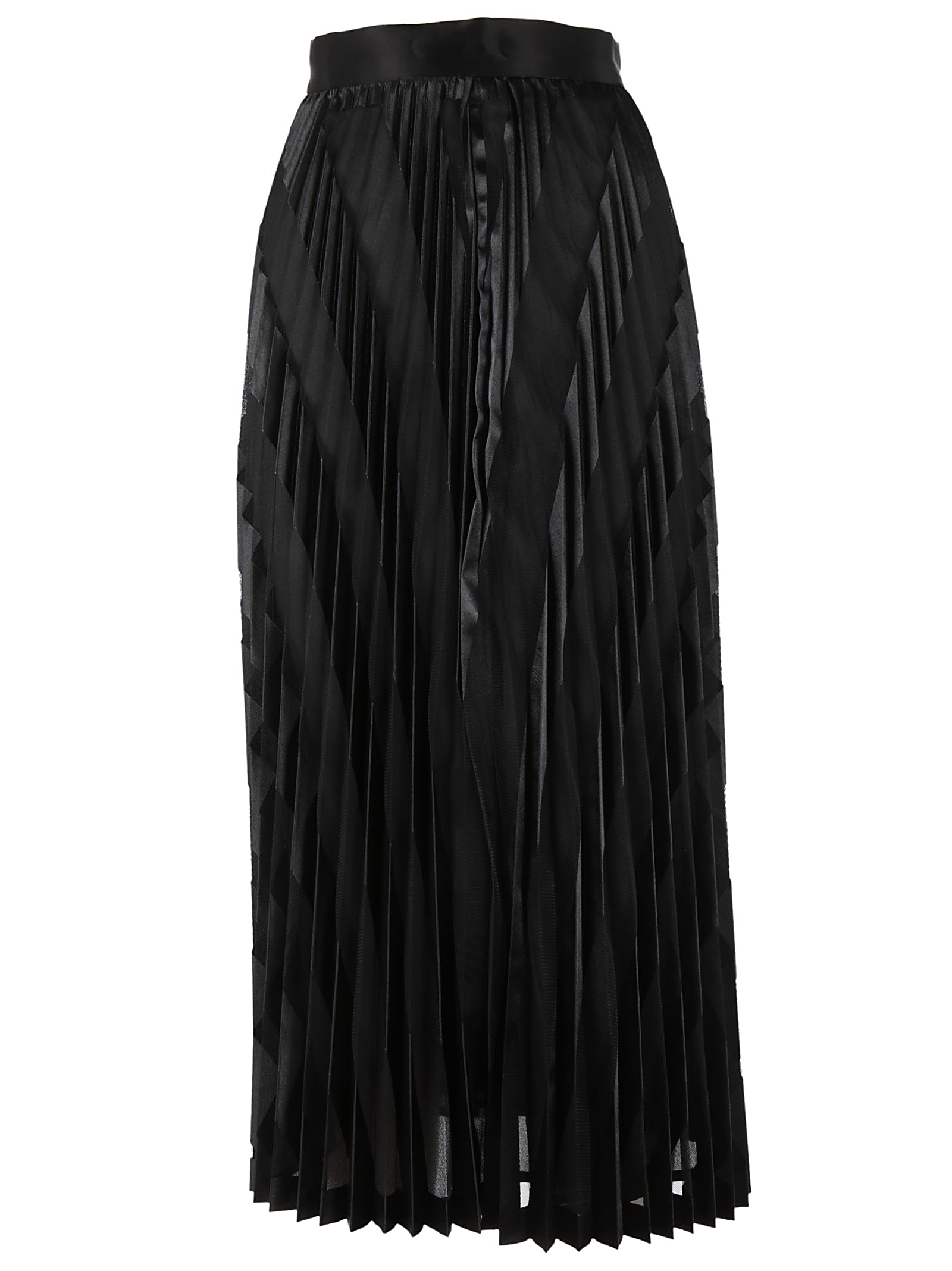 Off-White Off White Pleated Skirt