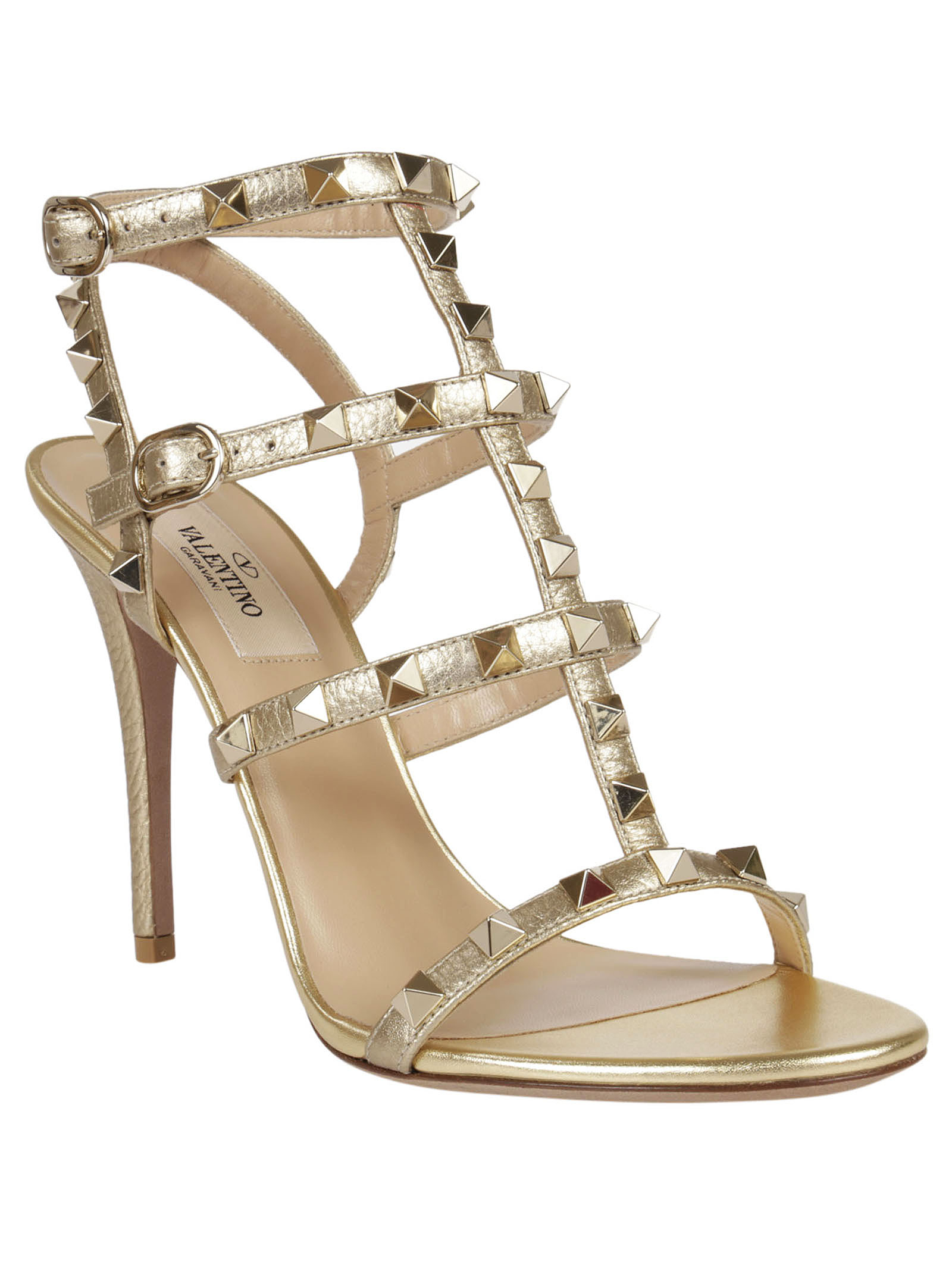 Valentino Garavani Rockstud Sandals hight heel