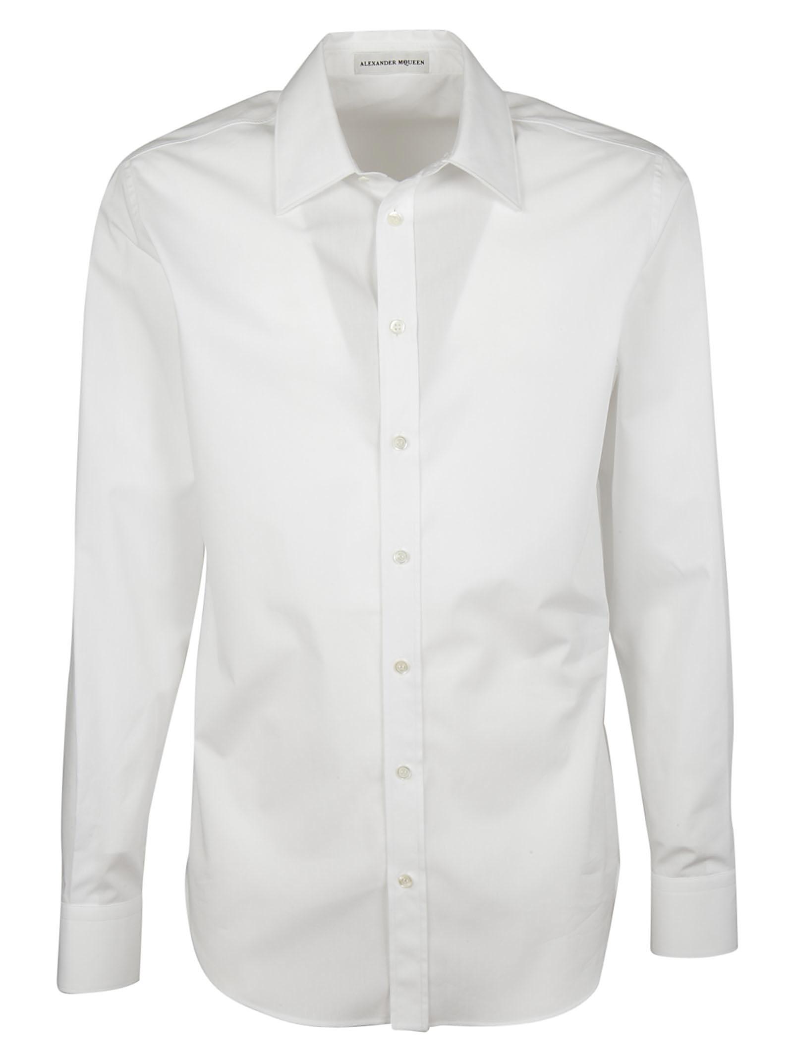 Alexander McQueen Alexander McQueen Pointed Collar Shirt