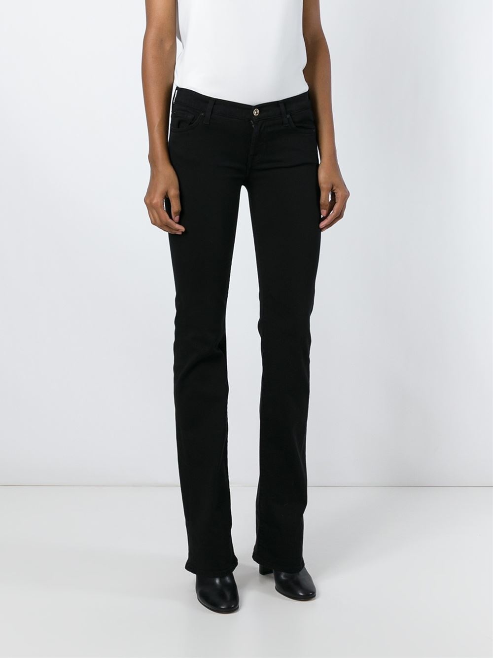 7 For All Mankind BBOTCUT SKINNY
