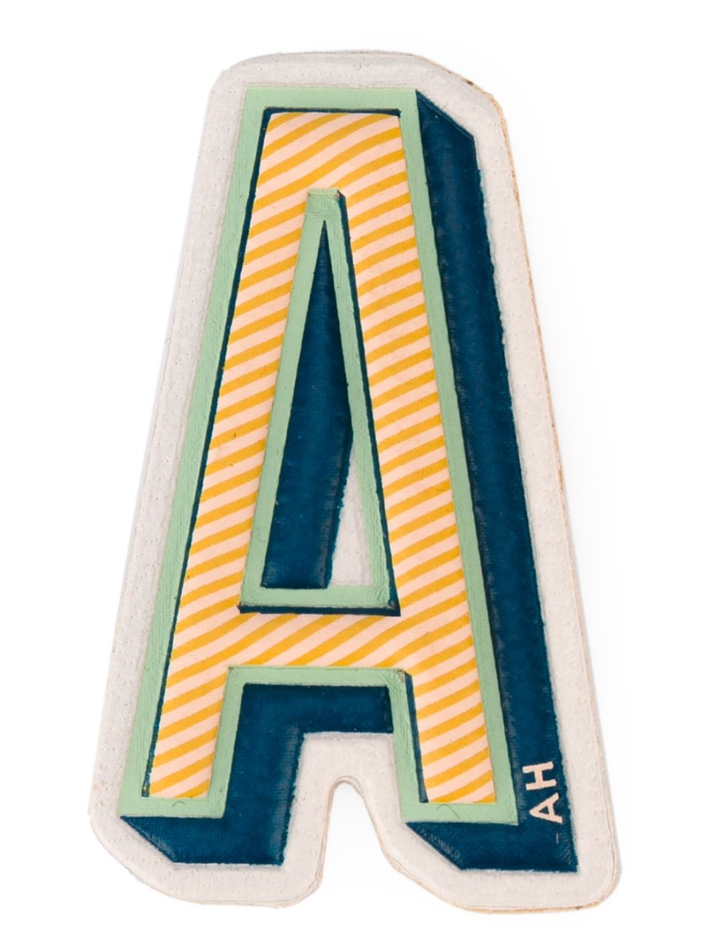 Anya Hindmach STICKERS ALPHABET A