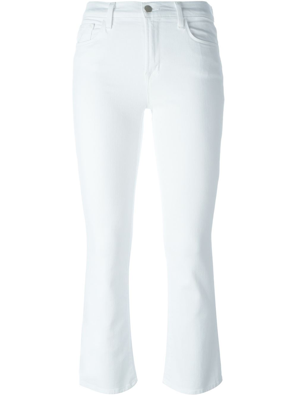 7 For All Mankind SELENA MID RISE CROP BOOTCUT