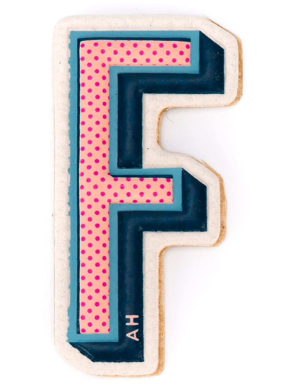 Anya Hindmach STICKERS ALPHABET F