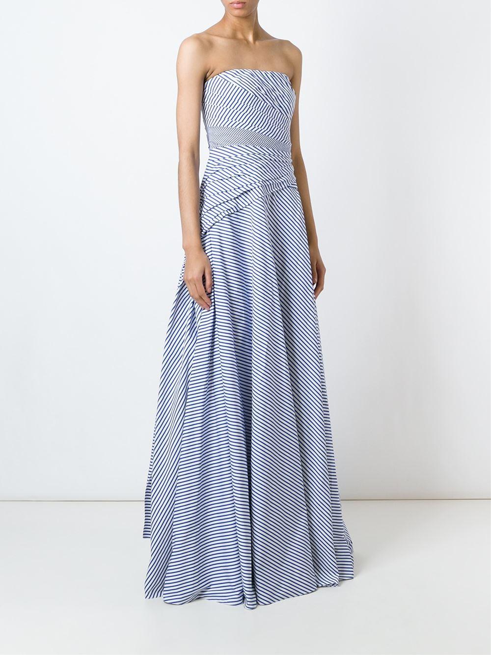 Ralph Lauren Black LINETTE EVENING DRESS