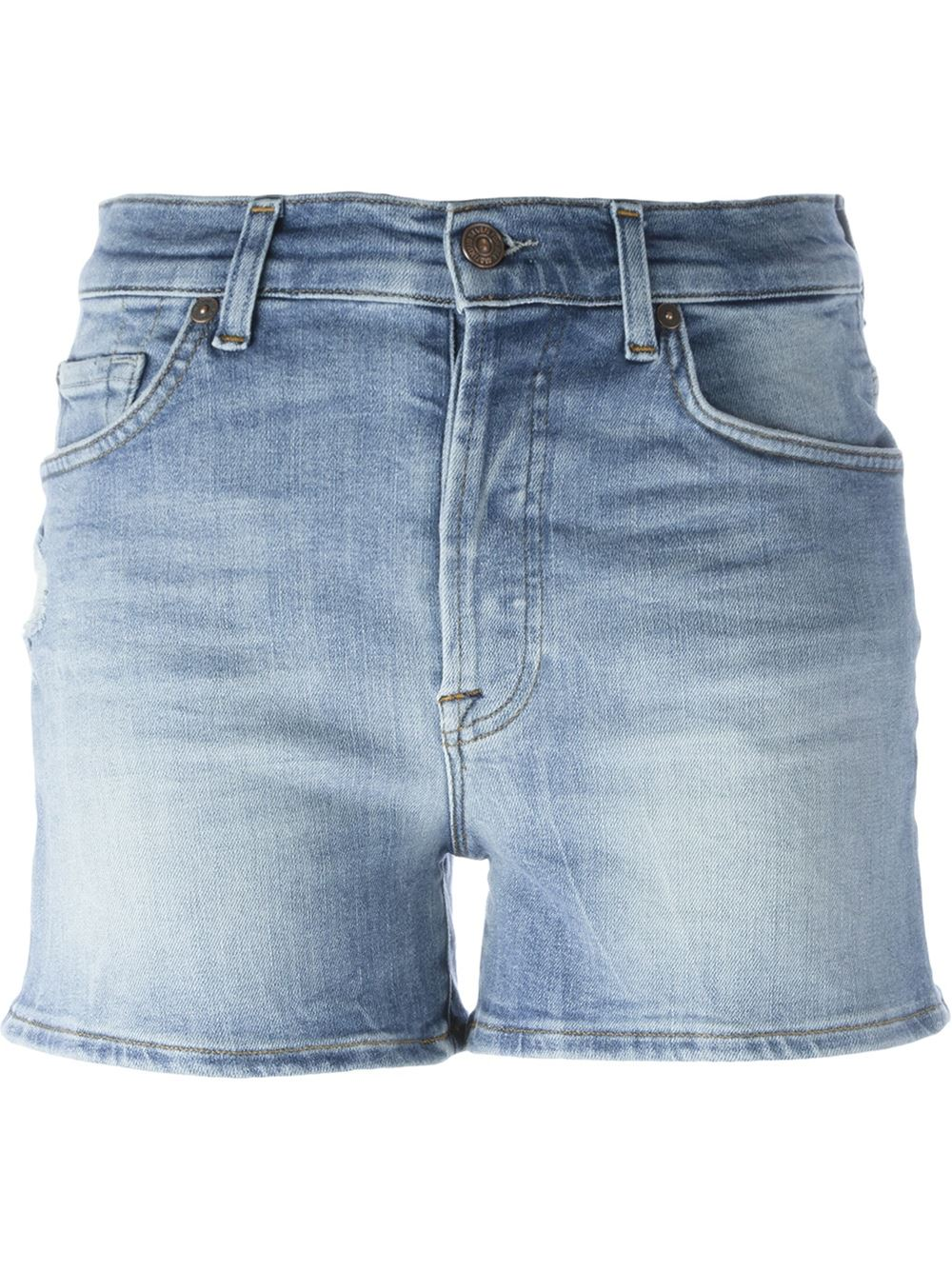7 For All Mankind SHORTS RAW CUT