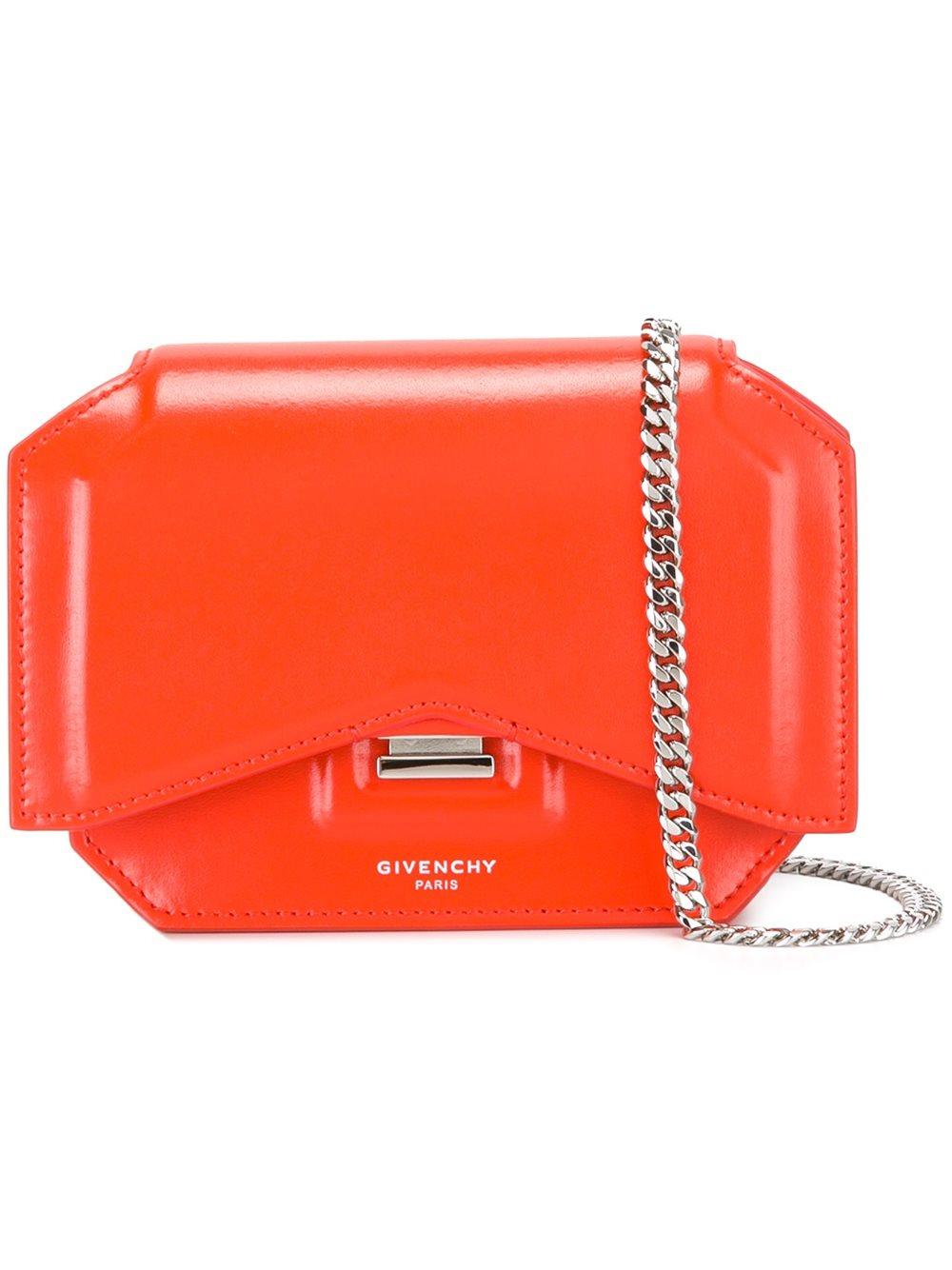 Givenchy Givenchy Mini Bow-Cut Shoulder Bag