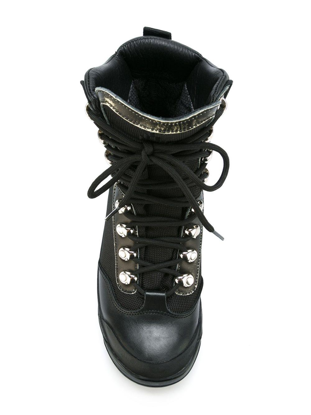 Marcelo Burlon Man hiking boots