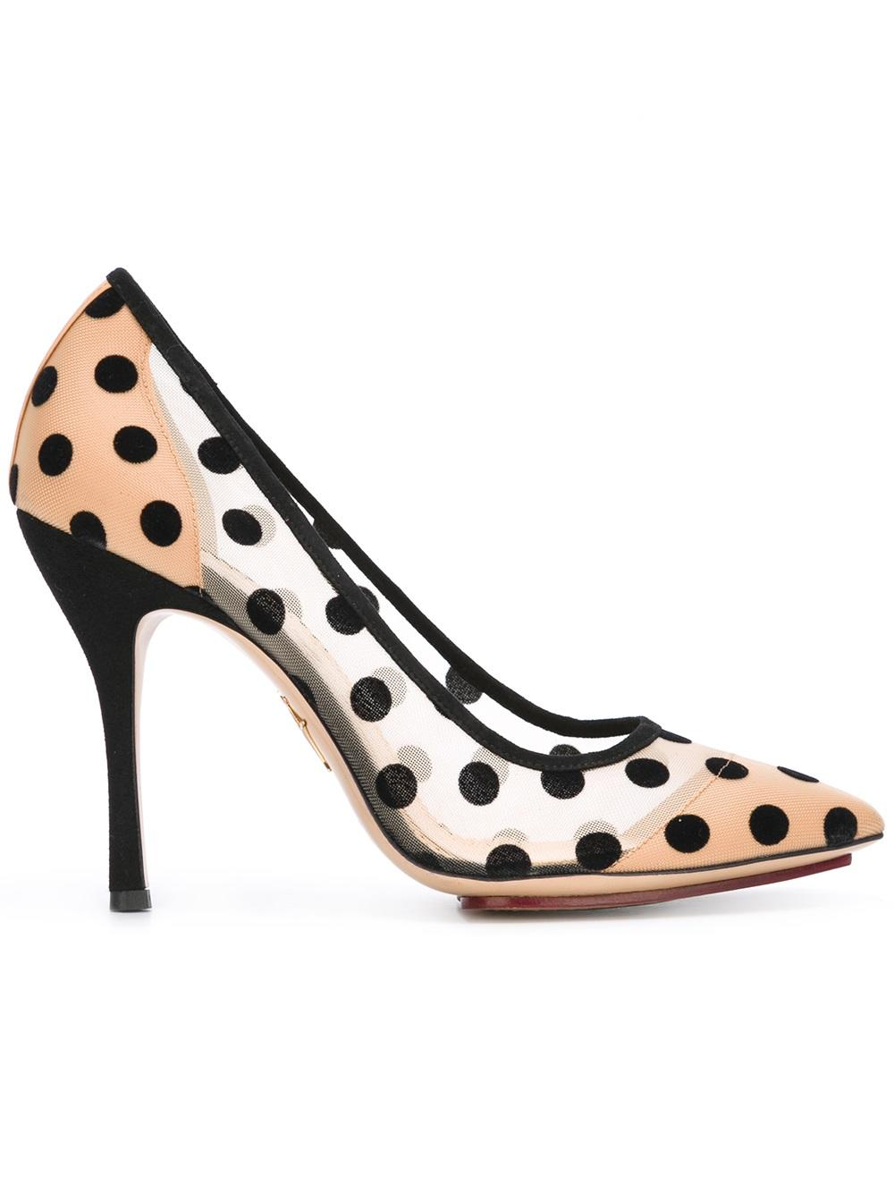 CHARLOTTE OLYMPIA DECOLTE` BACALL