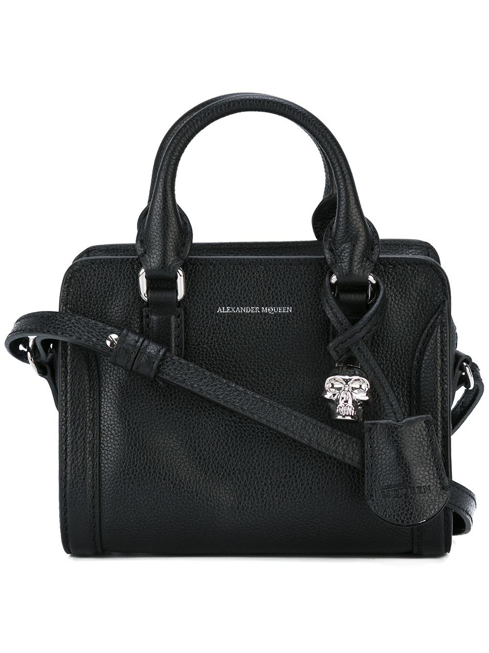 Alexander McQueen PADLOCK LEATHER BAG