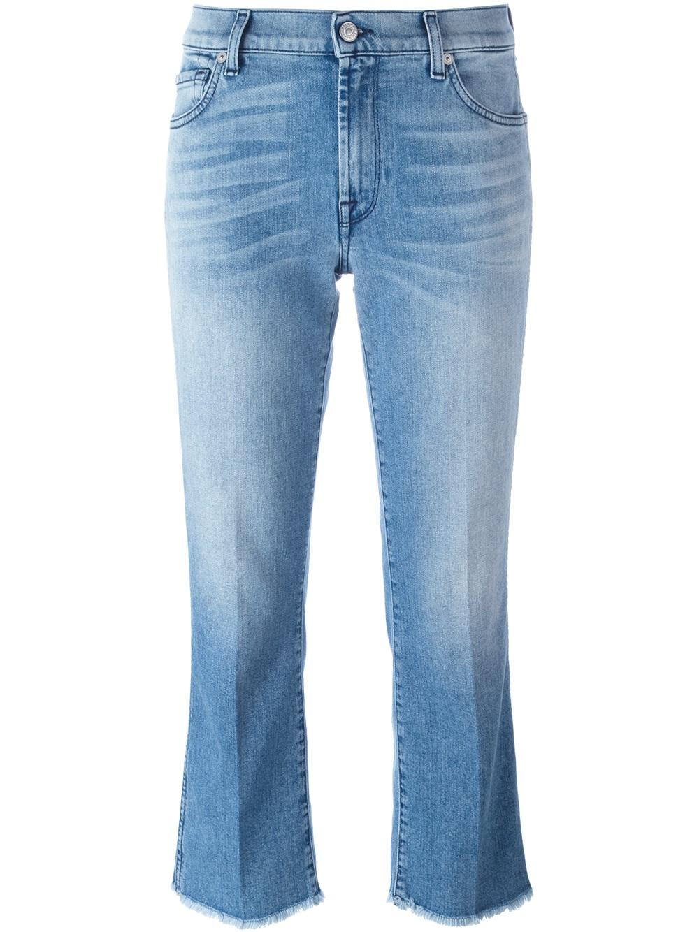 7 For All Mankind BOOTCUT CROP