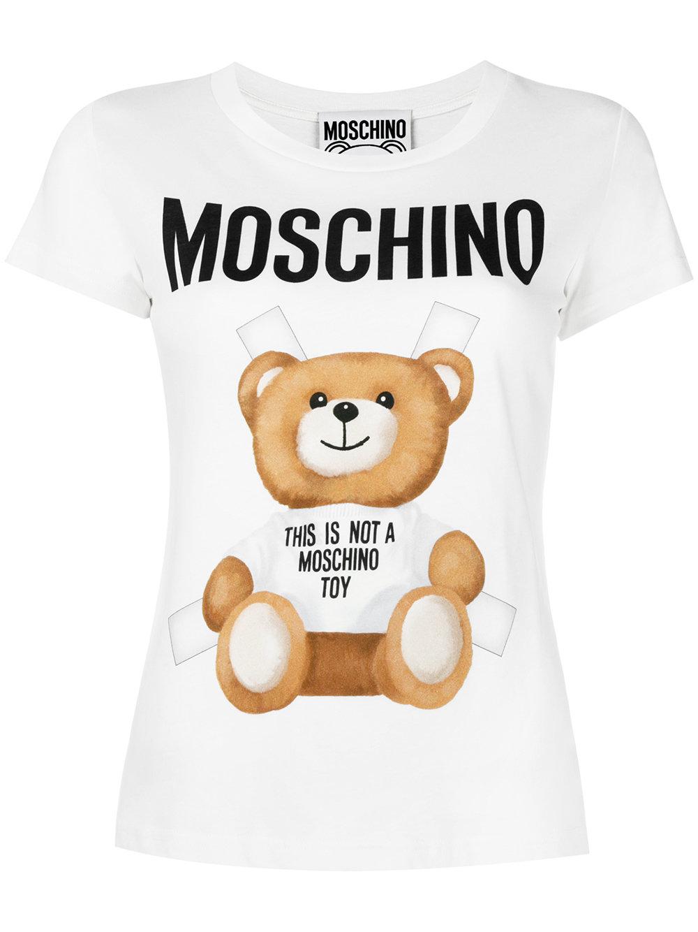 Moschino TSHIRT S ORSOLIM