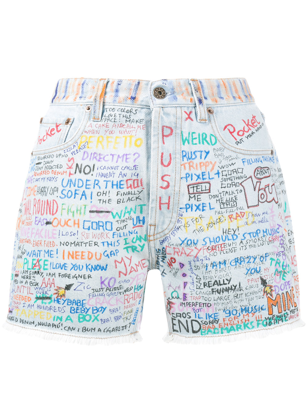 Faith Connexion SHORTS