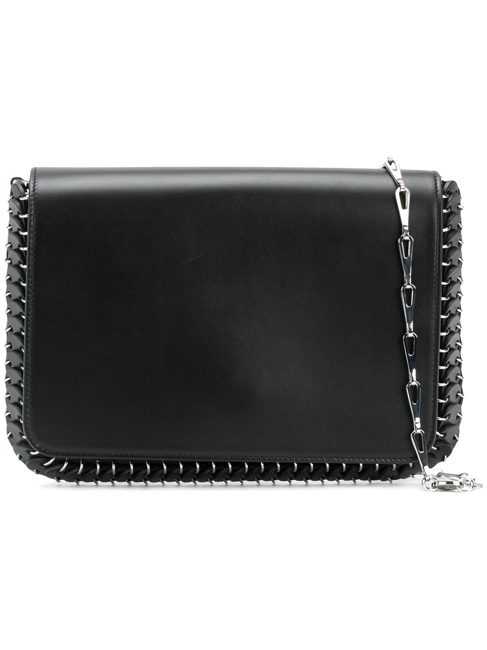 PACO RABANNE FLAP BAG SMALL