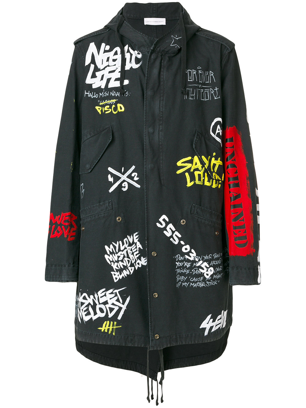 Faith Connexion TAG TAIL PARKA