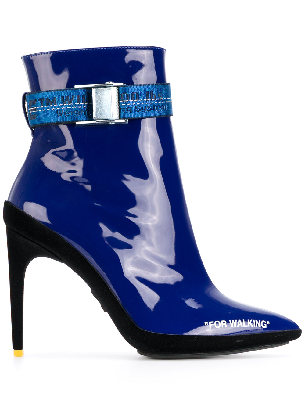 Off-White FOR WALKING ANKLE BOOT BLUE WHITE