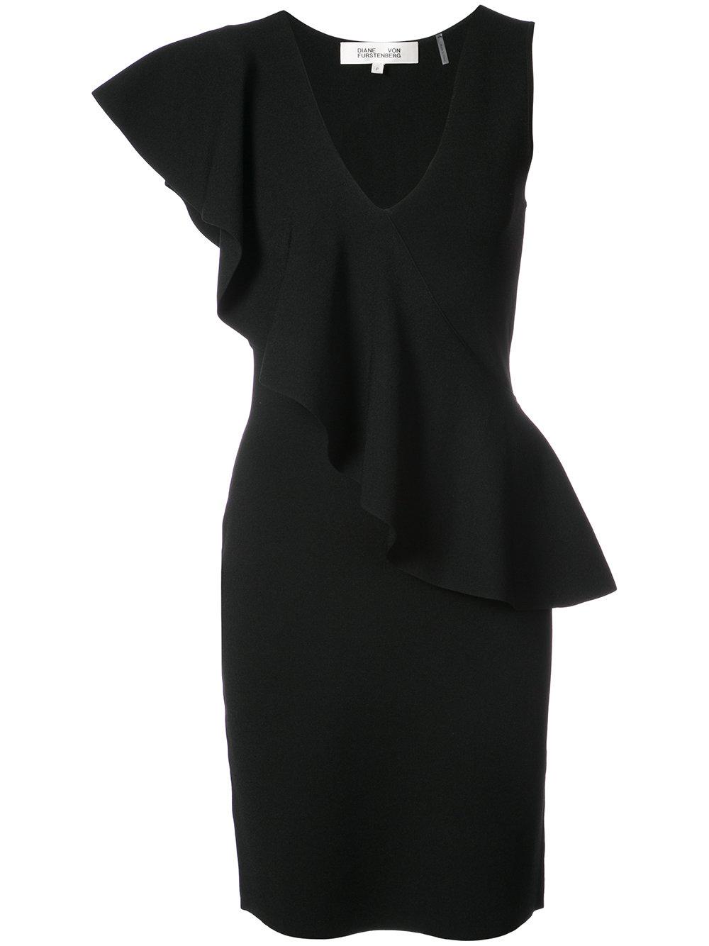 Diane Von Furstenberg RUFFLE DRESS
