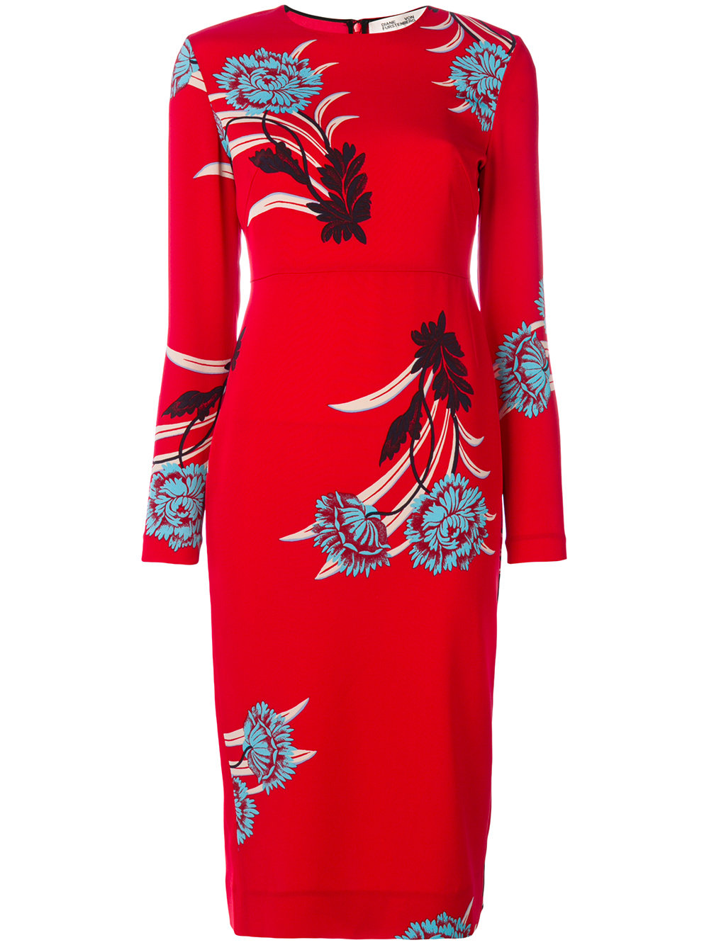 Diane Von Furstenberg TAILORED PRINTED DRESS