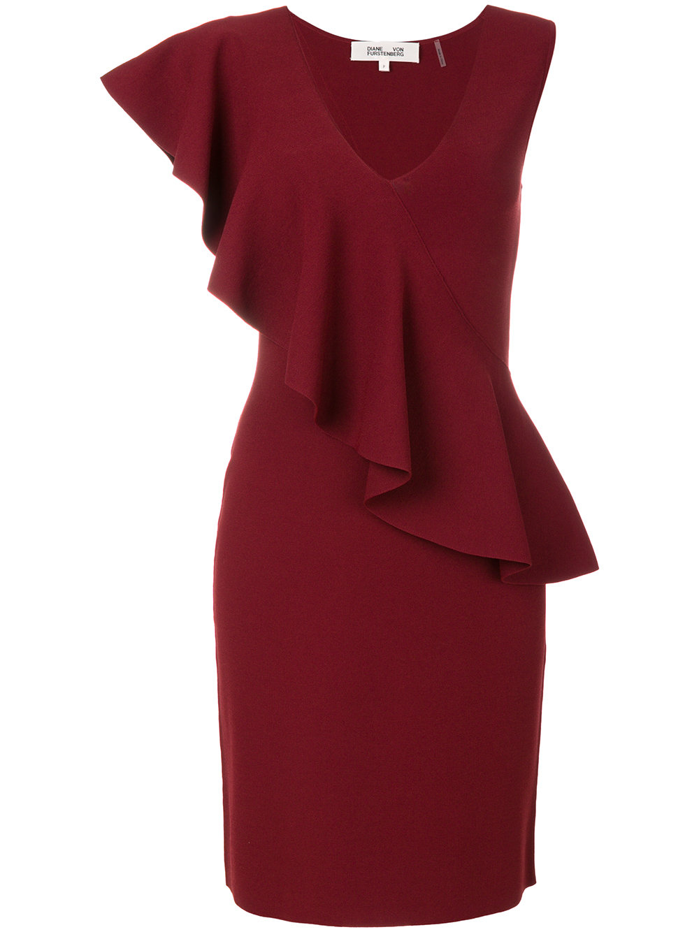 Diane Von Furstenberg RUFFLE DRESS