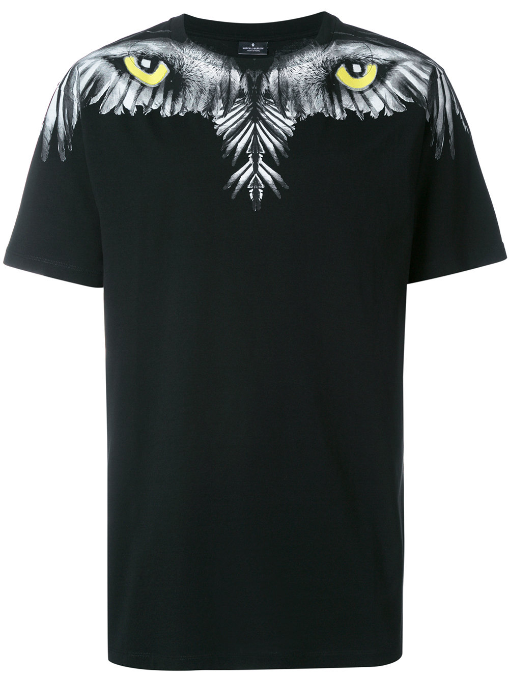 Marcelo Burlon Man EYE WING T-SHIRT BLACK MULTICOLOR
