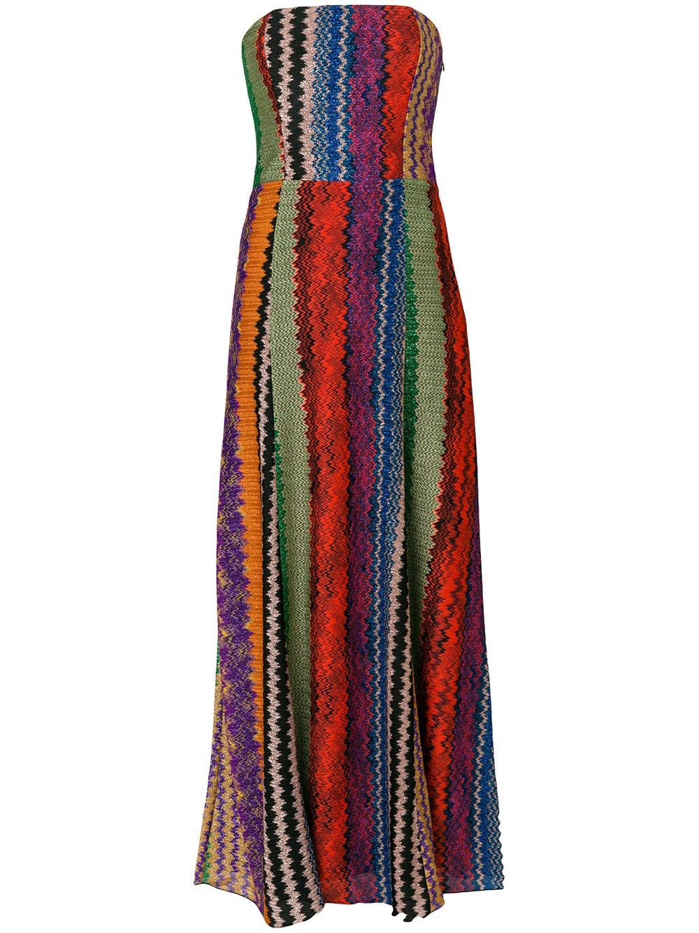 Missoni strapless embroidered dress