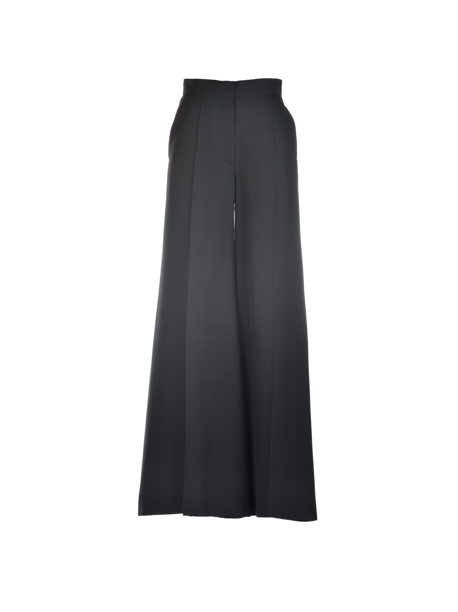 Valentino Valentino High Waisted Silk Trousers