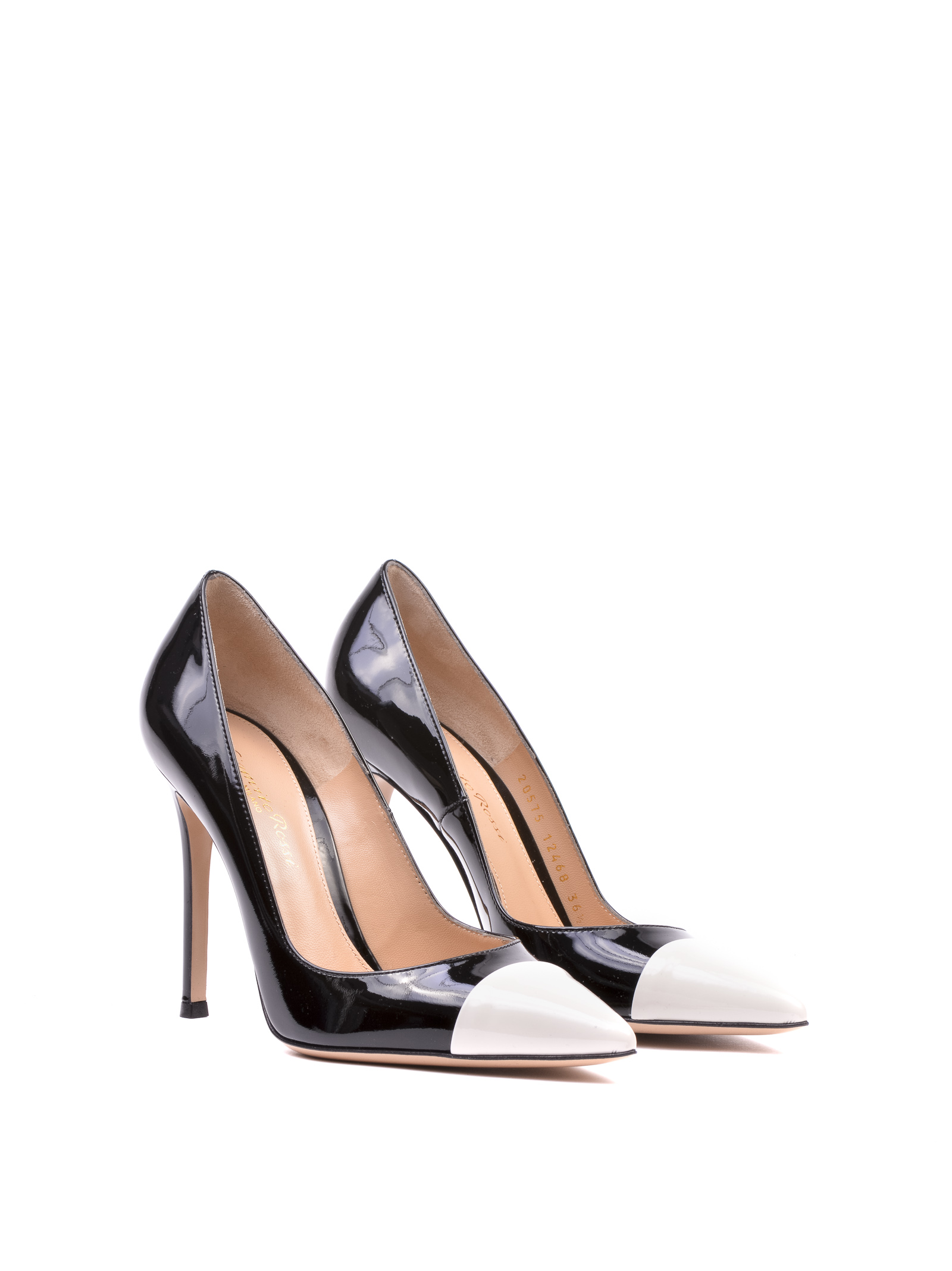 Gianvito Rossi Gianvito Mettalic Point Pumps