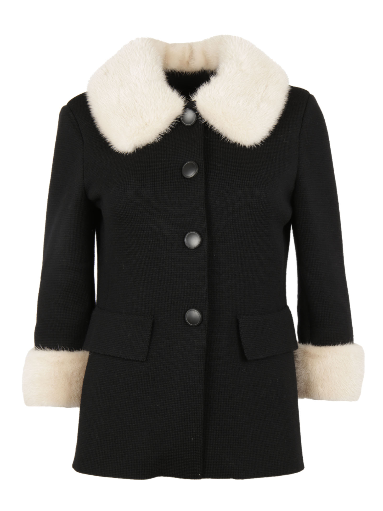 Charlott Charlott Single Breasted Pea Coat