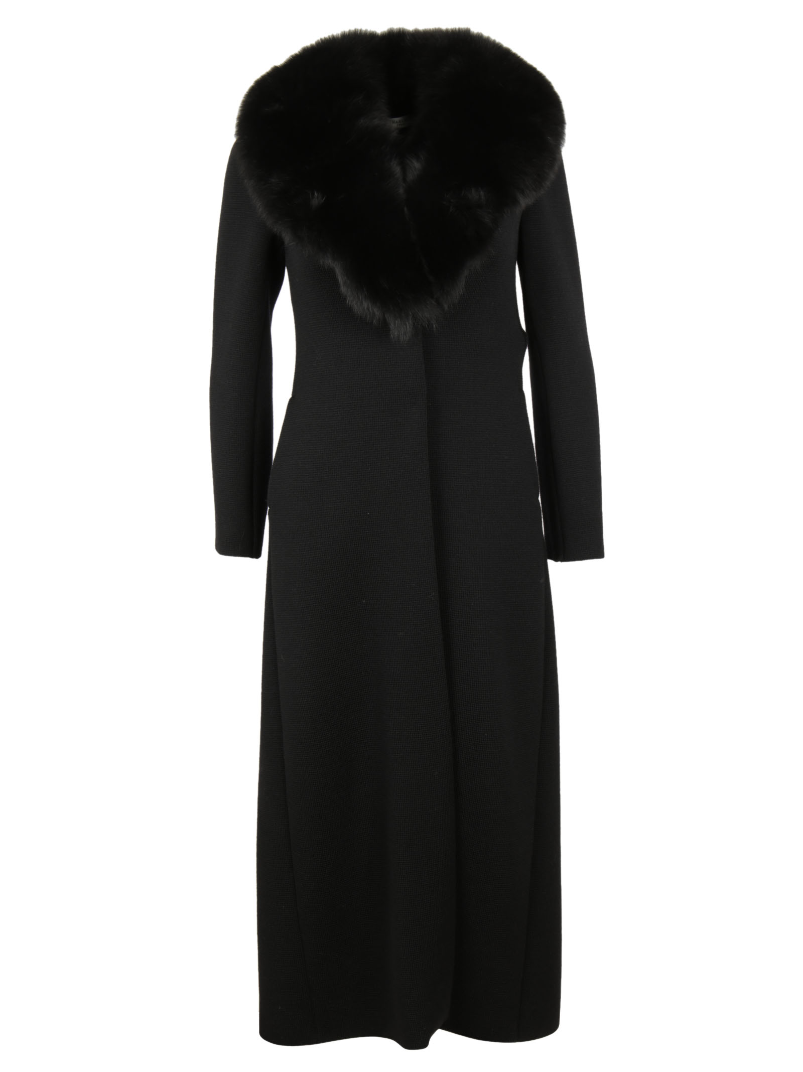 Charlott Charlott Fur Detail Coat