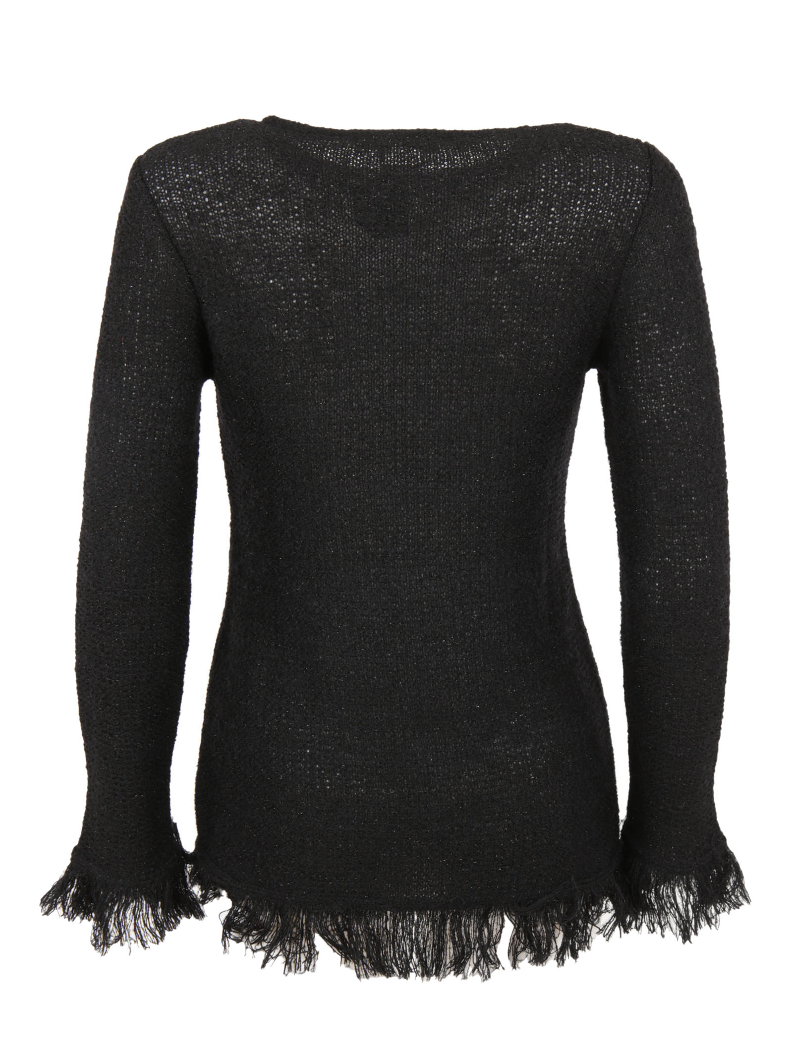 Charlott Charlott Frayed Sweater