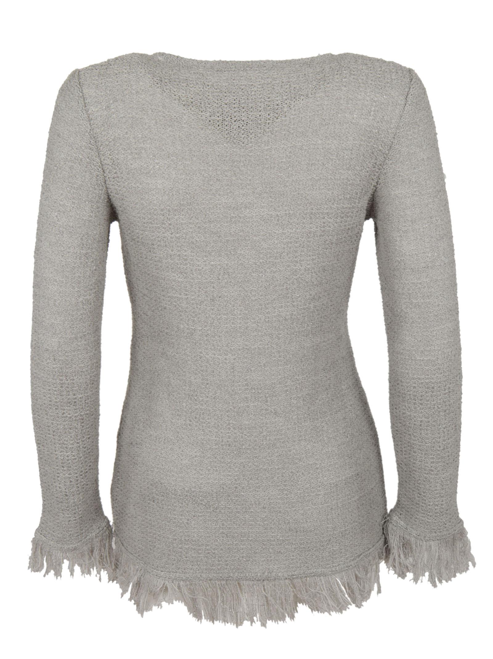Charlott Charlott Frayed Sweater