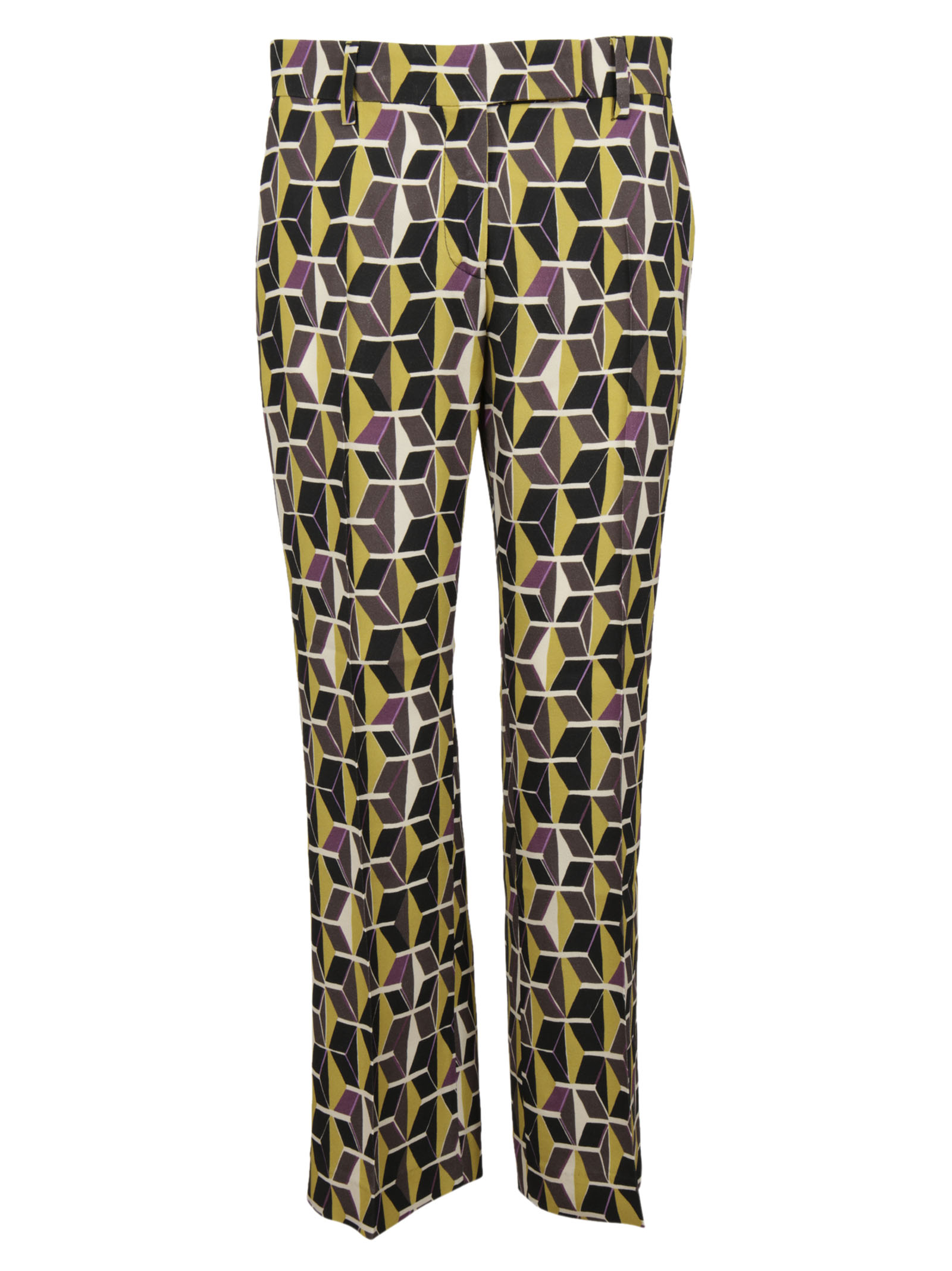 True Royal True Royal Printed Trousers