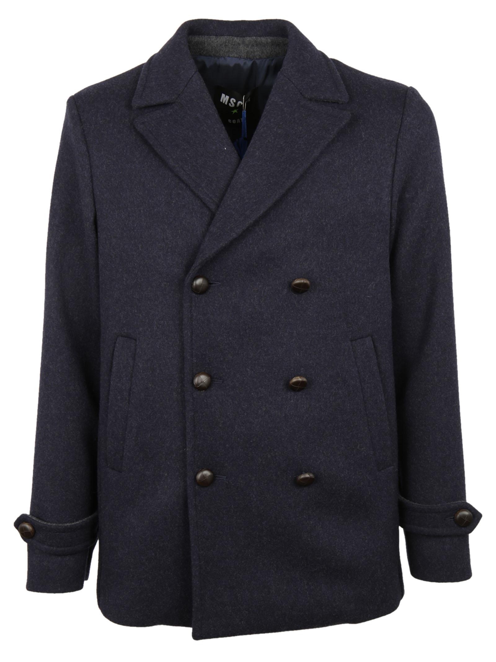 MSGM MSGM Double Breasted Pea Coat