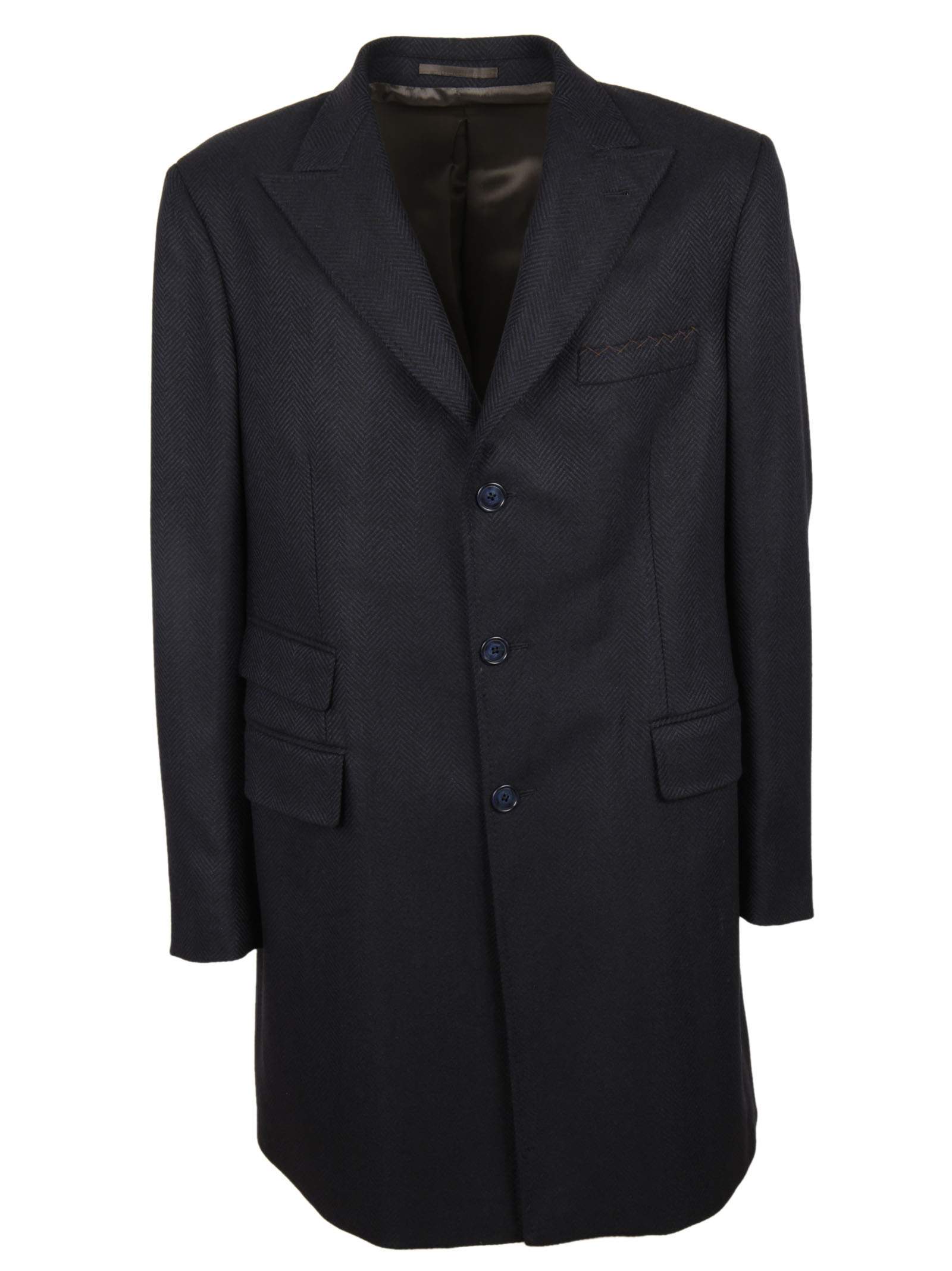 Doriani Doriani Notched Lapel Coat